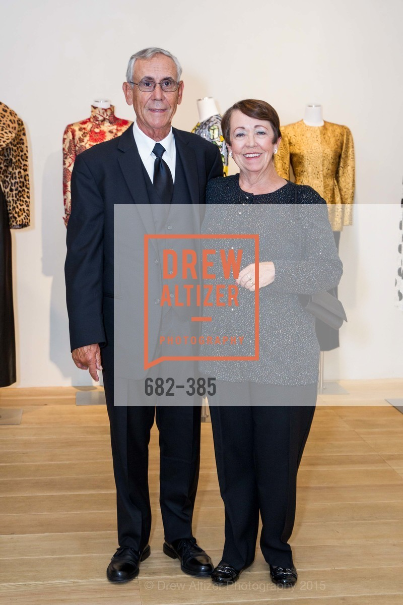 Bob Pacheki, Peggy Pacheki, Celebrating Life through Fashion A Retrospective: Collection of Joy Venturini Bianchi to benefit those who are developmentally disabled, Hedge Gallery. 501 Pacific Ave, October 17th, 2015,Drew Altizer, Drew Altizer Photography, full-service agency, private events, San Francisco photographer, photographer california