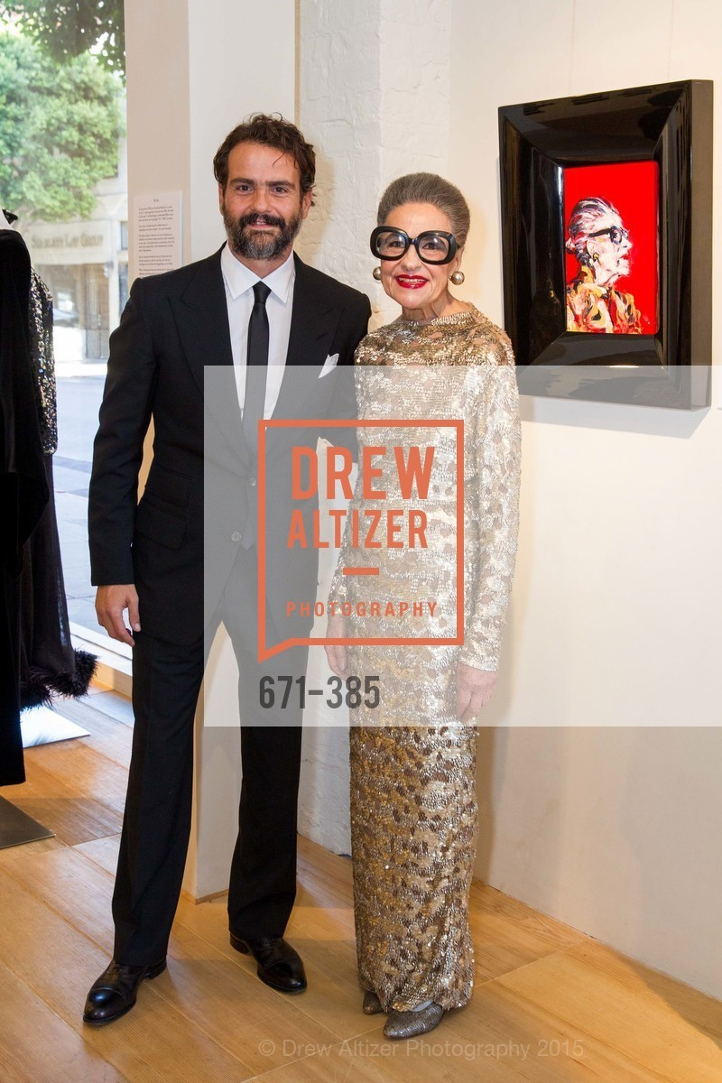 Paolo Troilo, Joy Venturini Bianchi, Celebrating Life through Fashion A Retrospective: Collection of Joy Venturini Bianchi to benefit those who are developmentally disabled, Hedge Gallery. 501 Pacific Ave, October 17th, 2015