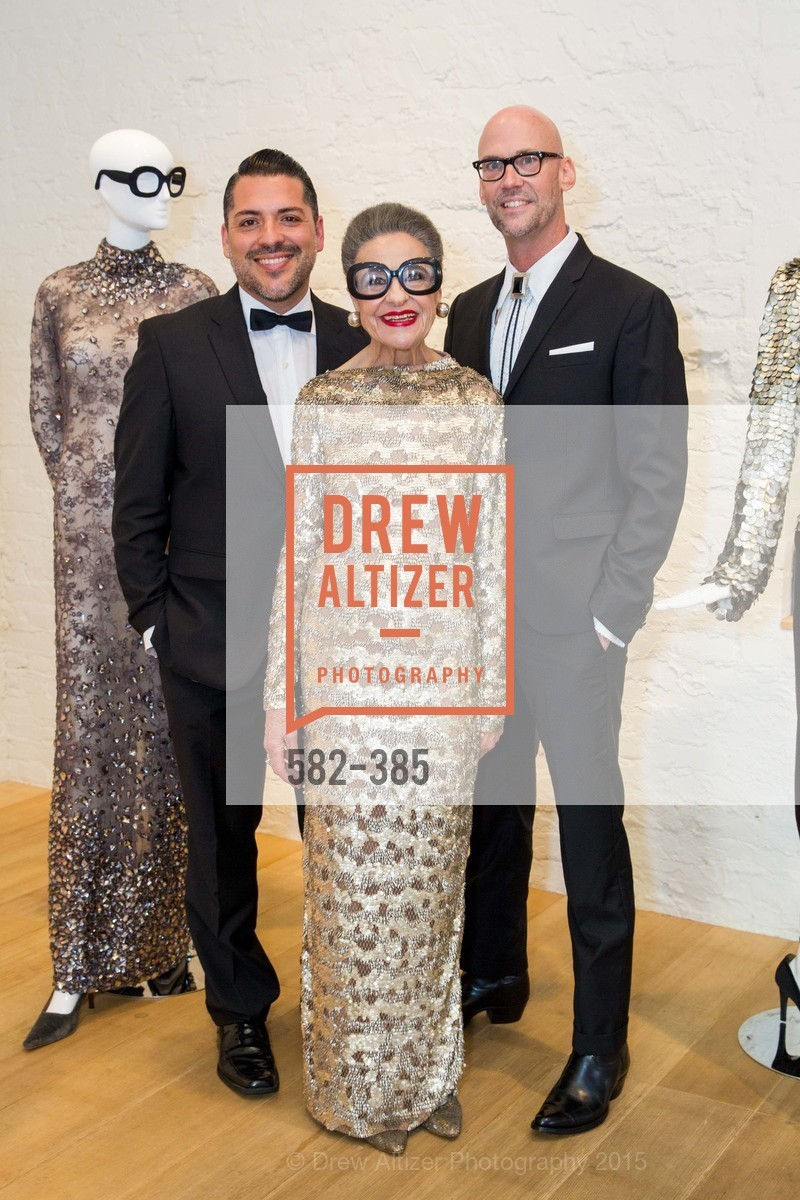 Roberto Rosas, Joy Venturini Bianchi, Tim Whalen, Celebrating Life through Fashion A Retrospective: Collection of Joy Venturini Bianchi to benefit those who are developmentally disabled, Hedge Gallery. 501 Pacific Ave, October 17th, 2015,Drew Altizer, Drew Altizer Photography, full-service agency, private events, San Francisco photographer, photographer california
