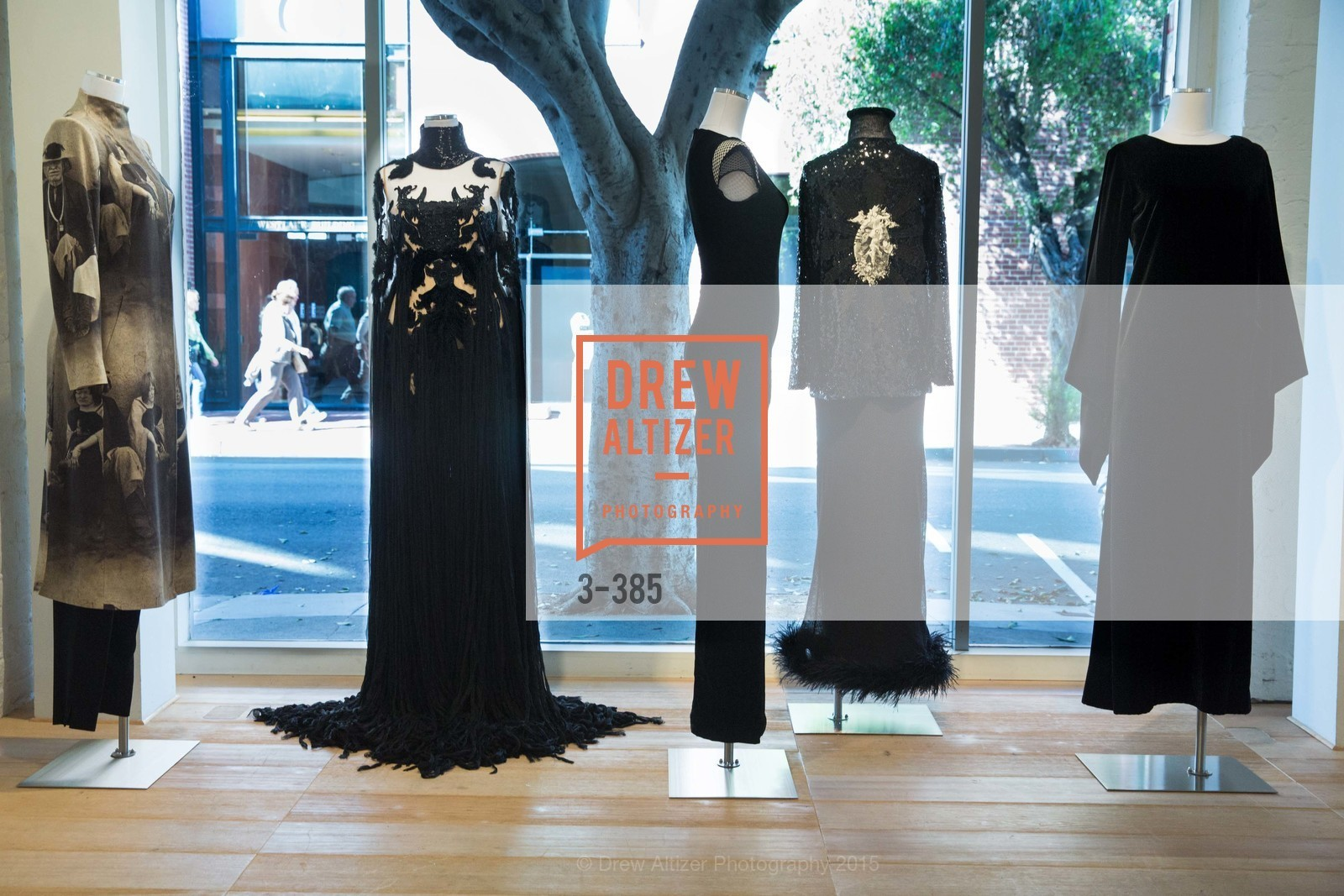 Atmosphere, Celebrating Life through Fashion A Retrospective: Collection of Joy Venturini Bianchi to benefit those who are developmentally disabled, Hedge Gallery. 501 Pacific Ave, October 17th, 2015,Drew Altizer, Drew Altizer Photography, full-service event agency, private events, San Francisco photographer, photographer California