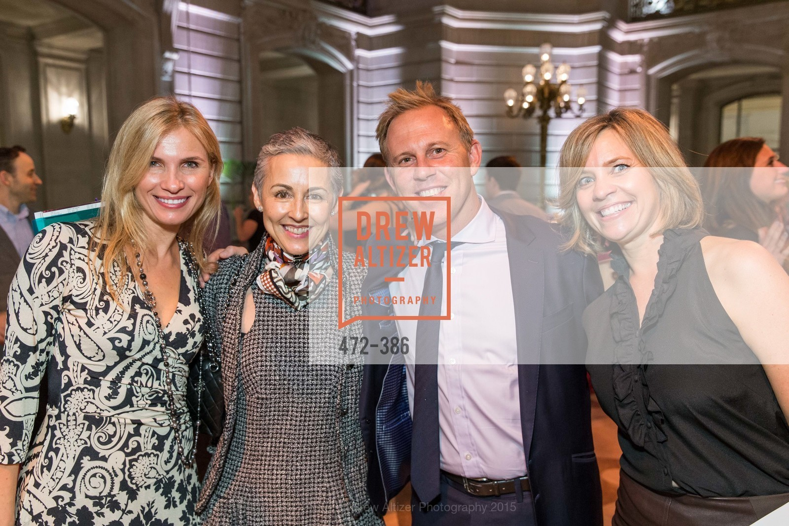 Monella Caplin, Sakurako Fisher, Michael Anders, Jennifer McCrea, Full Circle Fund Presents: R15E, San Francisco City Hall. 1 Dr Carlton B Goodlett Pl, October 15th, 2015,Drew Altizer, Drew Altizer Photography, full-service agency, private events, San Francisco photographer, photographer california