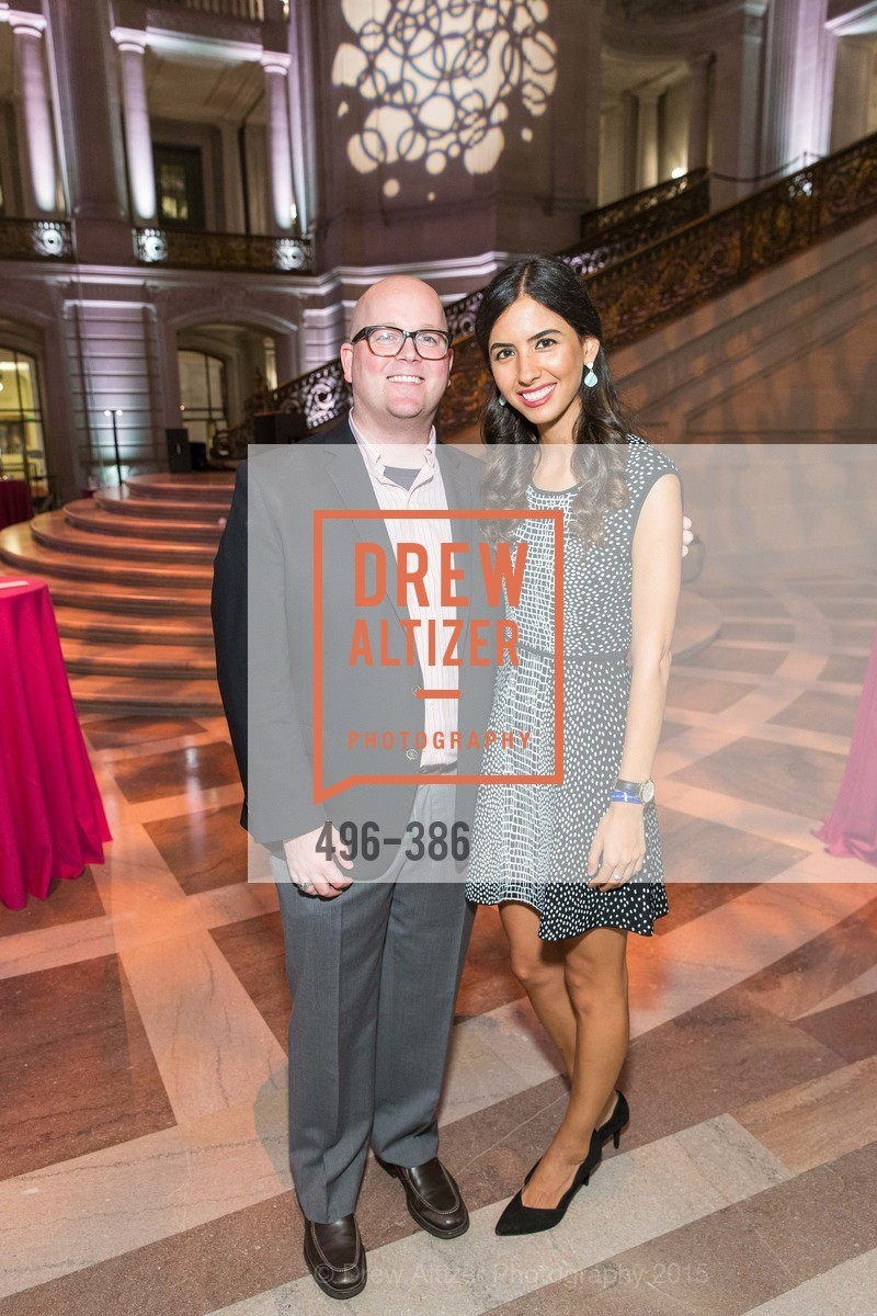 Tim Smith, Roxanne Shirkhoda, Full Circle Fund Presents: R15E, San Francisco City Hall. 1 Dr Carlton B Goodlett Pl, October 15th, 2015,Drew Altizer, Drew Altizer Photography, full-service agency, private events, San Francisco photographer, photographer california