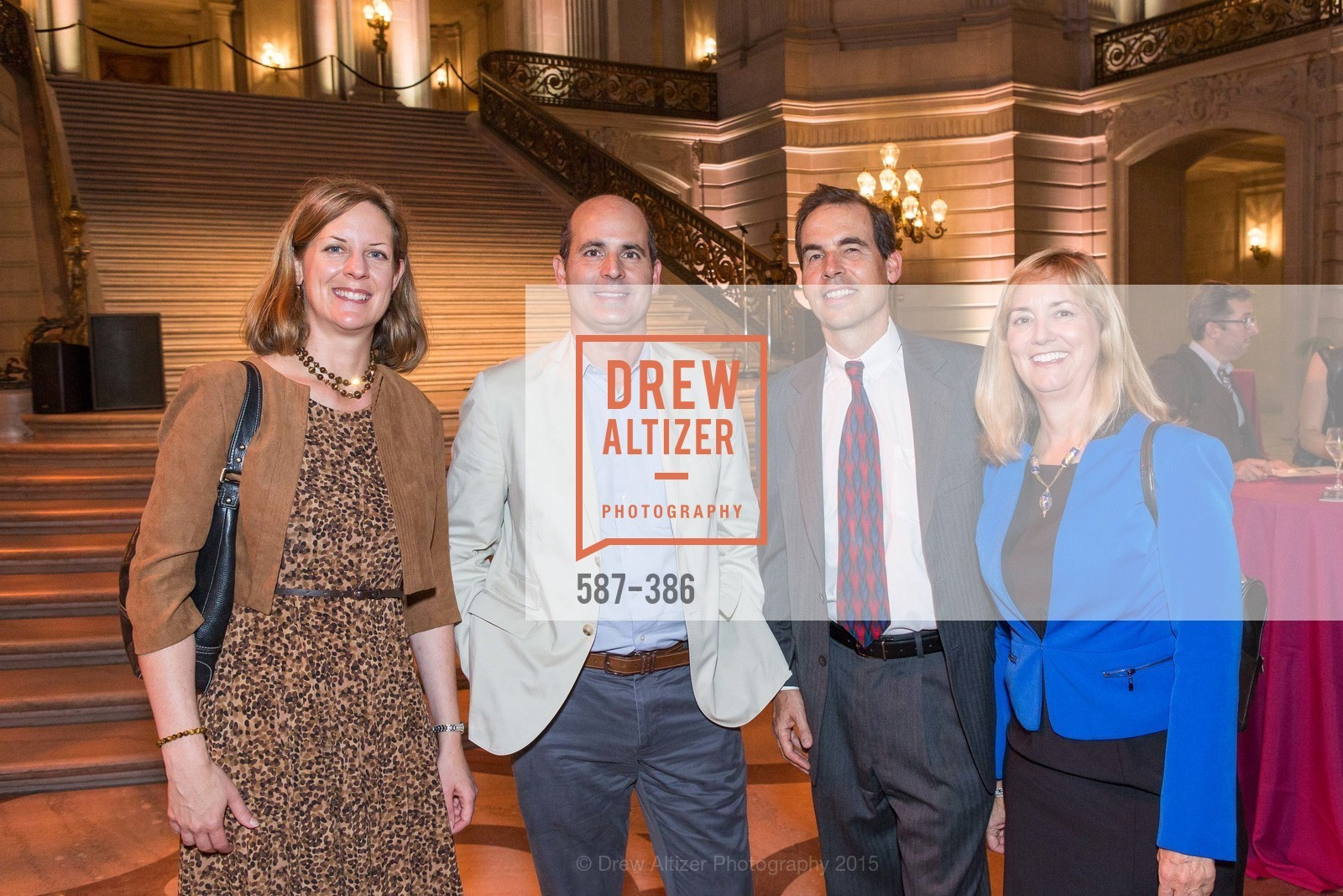Jennifer Boyle, Petrick Stanton, Steve McCoy-Thompson, Mary McCoy-Thompson, Full Circle Fund Presents: R15E, San Francisco City Hall. 1 Dr Carlton B Goodlett Pl, October 15th, 2015,Drew Altizer, Drew Altizer Photography, full-service agency, private events, San Francisco photographer, photographer california