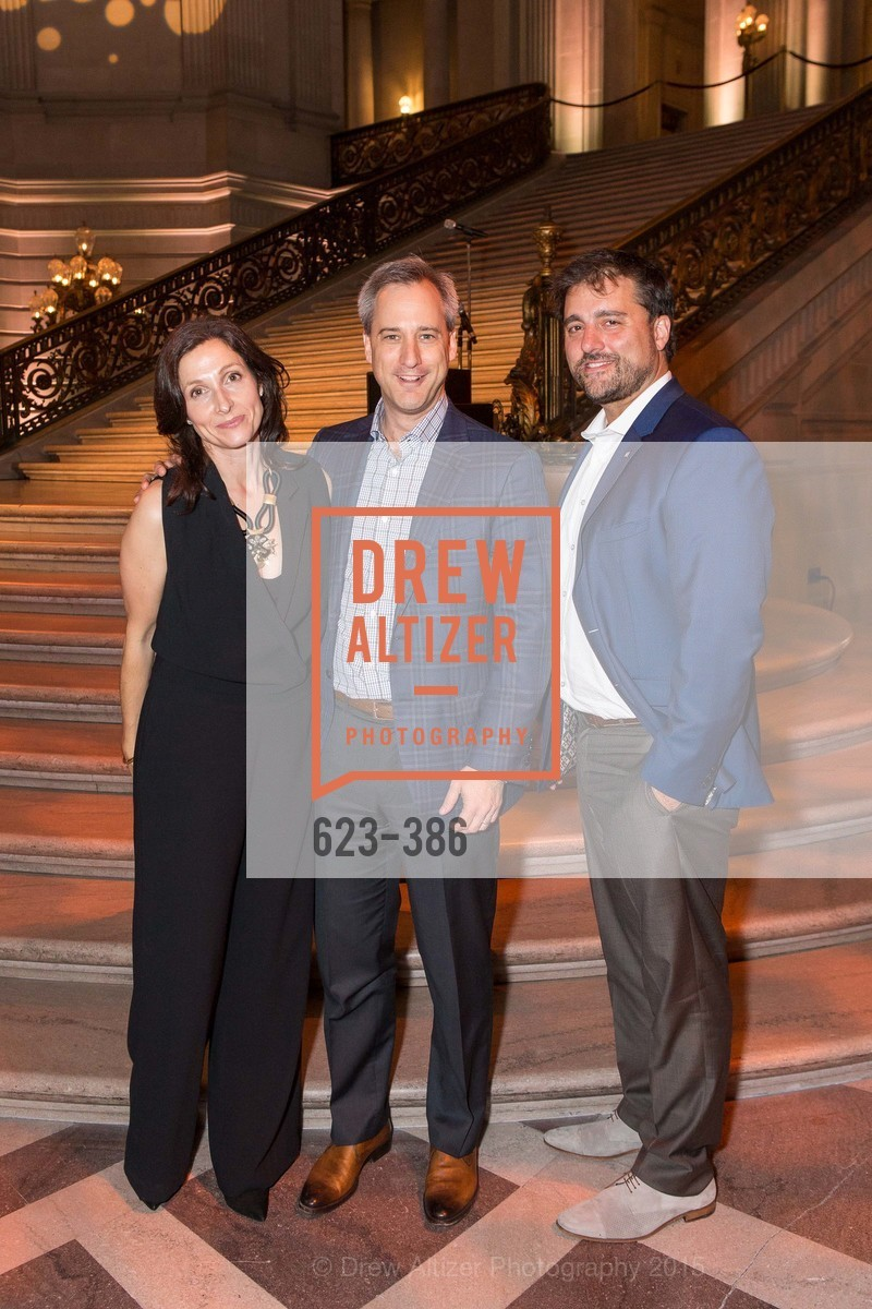 Christine Glastonbury, Michael Feldman, Ben Black, Full Circle Fund Presents: R15E, San Francisco City Hall. 1 Dr Carlton B Goodlett Pl, October 15th, 2015,Drew Altizer, Drew Altizer Photography, full-service agency, private events, San Francisco photographer, photographer california