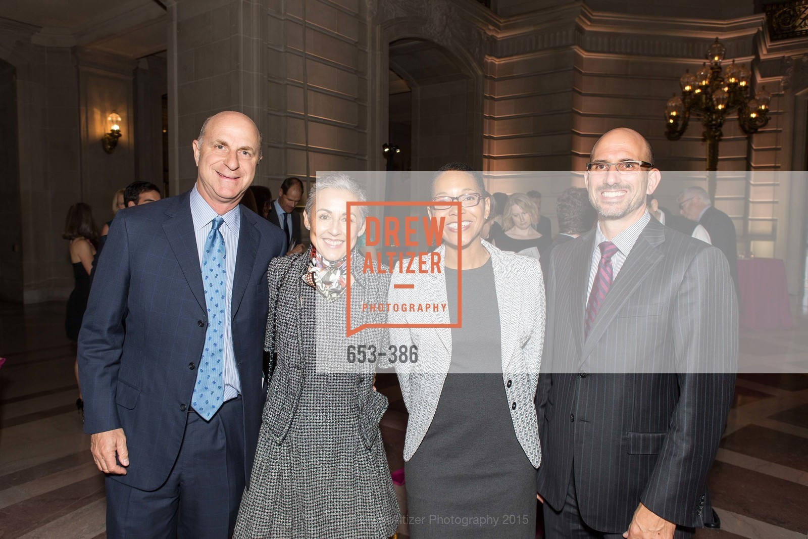 Bill Fisher, Sakurako Fisher, Gail Covington, Derek Dean, Full Circle Fund Presents: R15E, San Francisco City Hall. 1 Dr Carlton B Goodlett Pl, October 15th, 2015,Drew Altizer, Drew Altizer Photography, full-service agency, private events, San Francisco photographer, photographer california