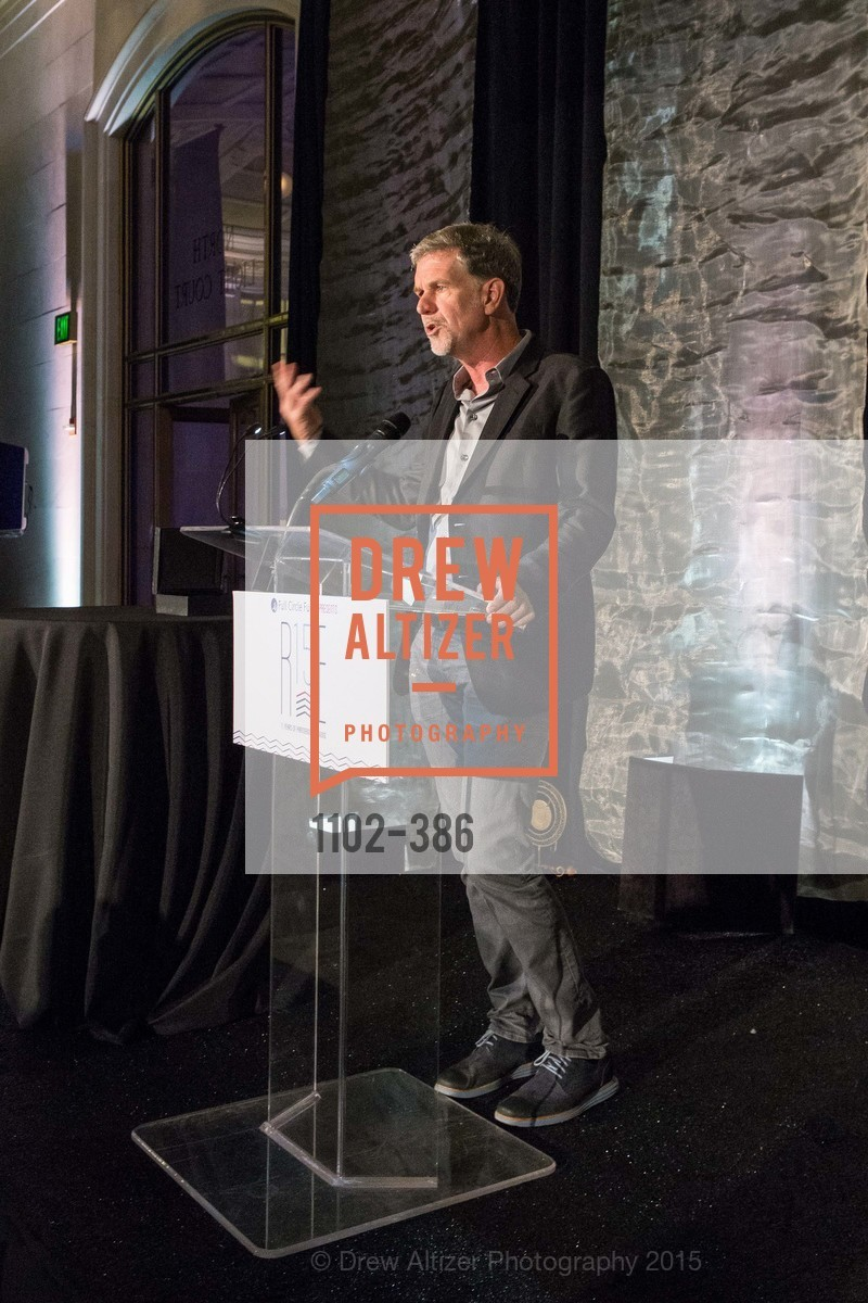 Reed Hastings, Full Circle Fund Presents: R15E, San Francisco City Hall. 1 Dr Carlton B Goodlett Pl, October 15th, 2015,Drew Altizer, Drew Altizer Photography, full-service agency, private events, San Francisco photographer, photographer california