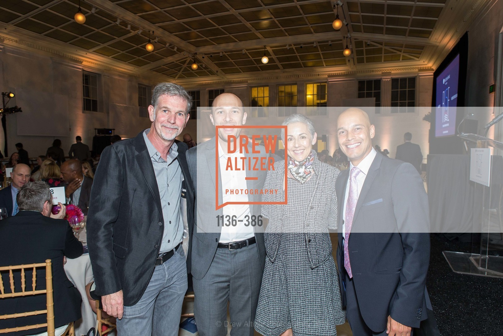 Reed Hastongs, Logan Green, Sakurako Fisher, Jorge Blandon, Full Circle Fund Presents: R15E, San Francisco City Hall. 1 Dr Carlton B Goodlett Pl, October 15th, 2015,Drew Altizer, Drew Altizer Photography, full-service agency, private events, San Francisco photographer, photographer california