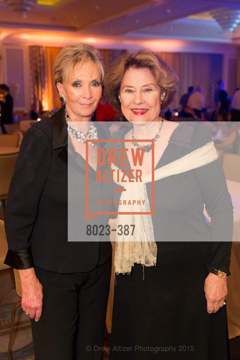 Sallie Huntting, Diane Baker, Ronald McDonald House 2015 Home Away From Home Gala, Four Seasons Hotel San Francisco, Grand Ballroom. 757 Market St, October 16th, 2015
