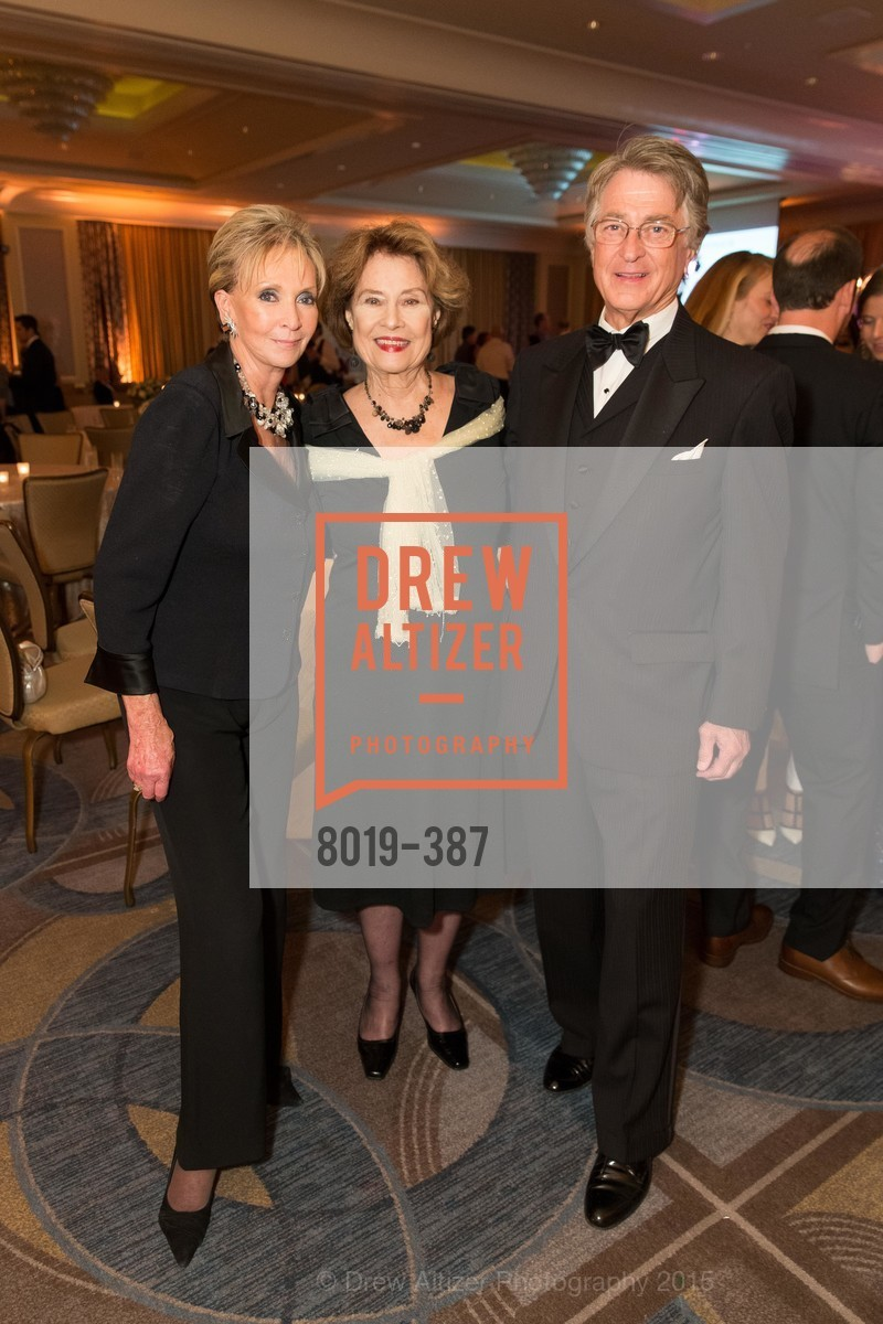 Sallie Huntting, Diane Baker, Leon Huntting, Ronald McDonald House 2015 Home Away From Home Gala, Four Seasons Hotel San Francisco, Grand Ballroom. 757 Market St, October 16th, 2015,Drew Altizer, Drew Altizer Photography, full-service agency, private events, San Francisco photographer, photographer california