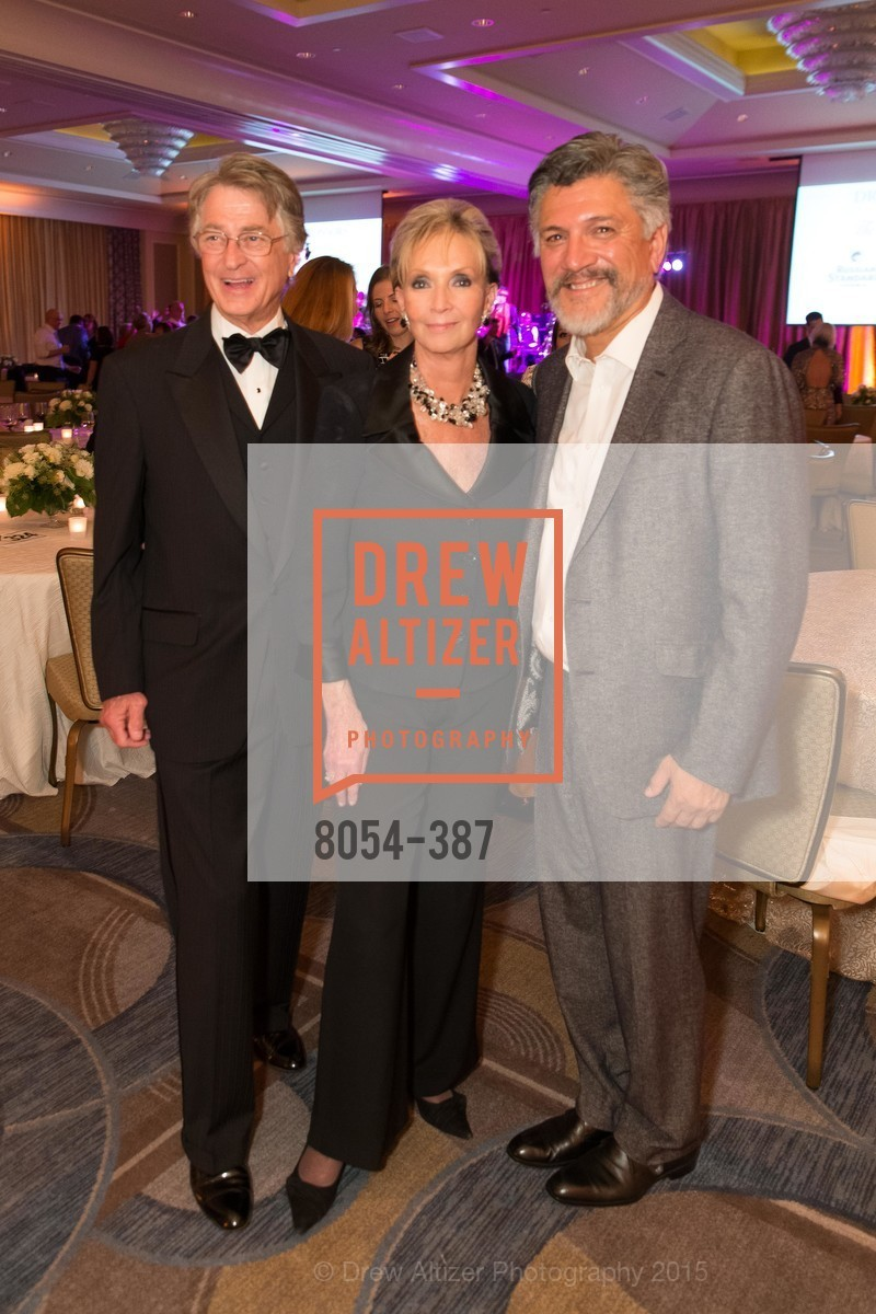 Leon Huntting, Sallie Huntting, Mario Diaz, Ronald McDonald House 2015 Home Away From Home Gala, Four Seasons Hotel San Francisco, Grand Ballroom. 757 Market St, October 16th, 2015,Drew Altizer, Drew Altizer Photography, full-service agency, private events, San Francisco photographer, photographer california