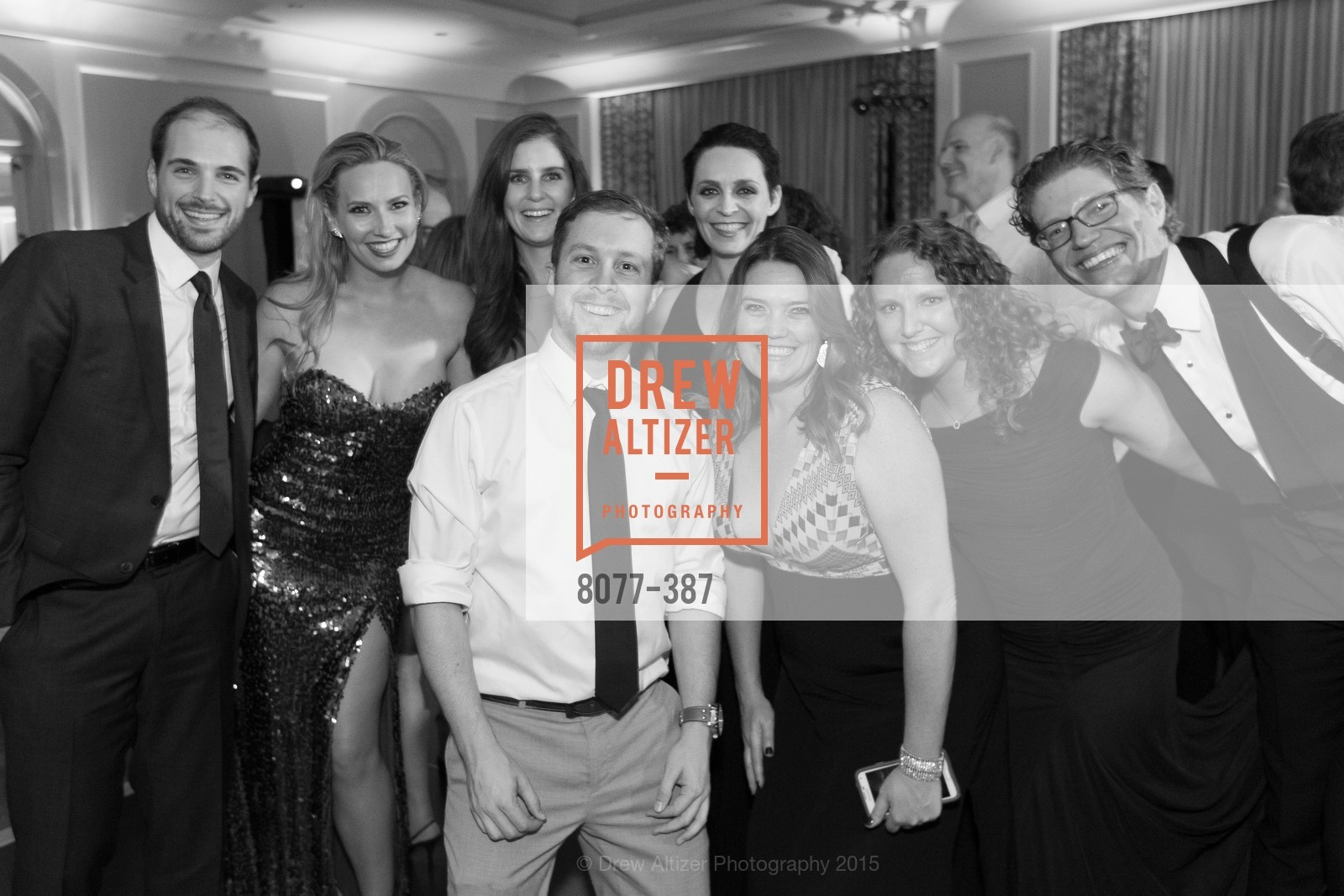 Brendan O'Callaghan, Michelle Ashman, Erin Odisio, Jeremiah Boehner, Colette Gallagher, Aryn Yancher, Peter DiFrancesca, Amanda Schneider, Ronald McDonald House 2015 Home Away From Home Gala, Four Seasons Hotel San Francisco, Grand Ballroom. 757 Market St, October 16th, 2015,Drew Altizer, Drew Altizer Photography, full-service agency, private events, San Francisco photographer, photographer california