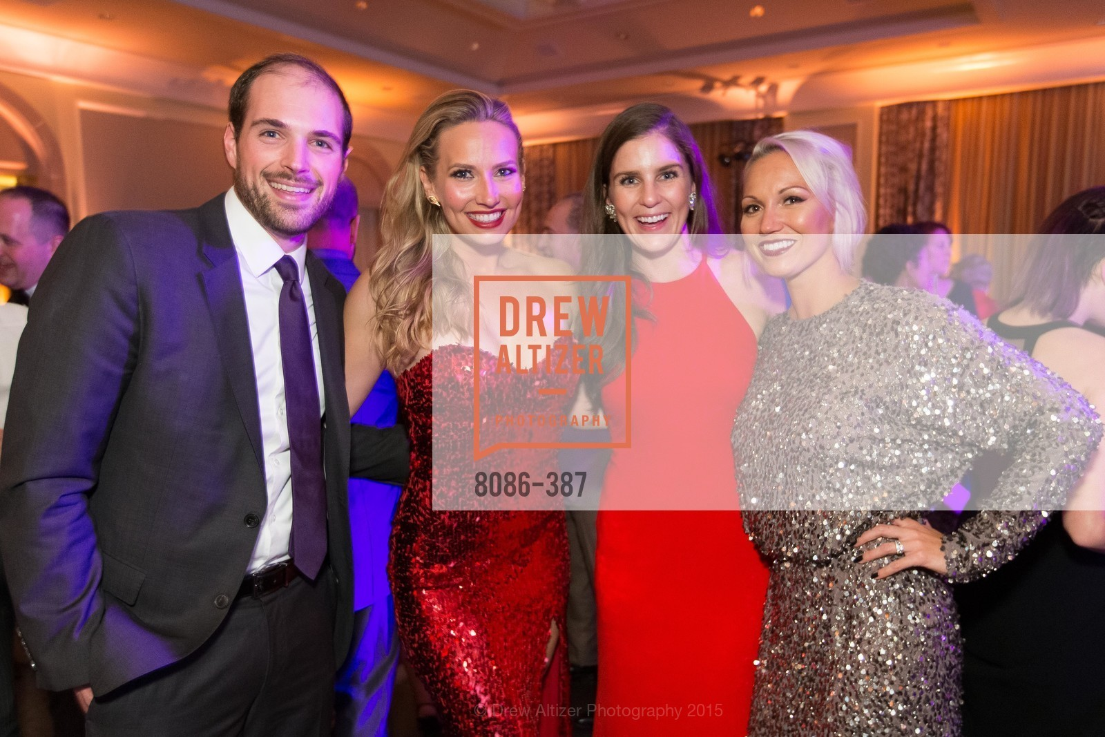 Brendan O'Callaghan, Michelle Ashman, Erin Odisio, Breanna Johnson, Ronald McDonald House 2015 Home Away From Home Gala, Four Seasons Hotel San Francisco, Grand Ballroom. 757 Market St, October 16th, 2015,Drew Altizer, Drew Altizer Photography, full-service agency, private events, San Francisco photographer, photographer california