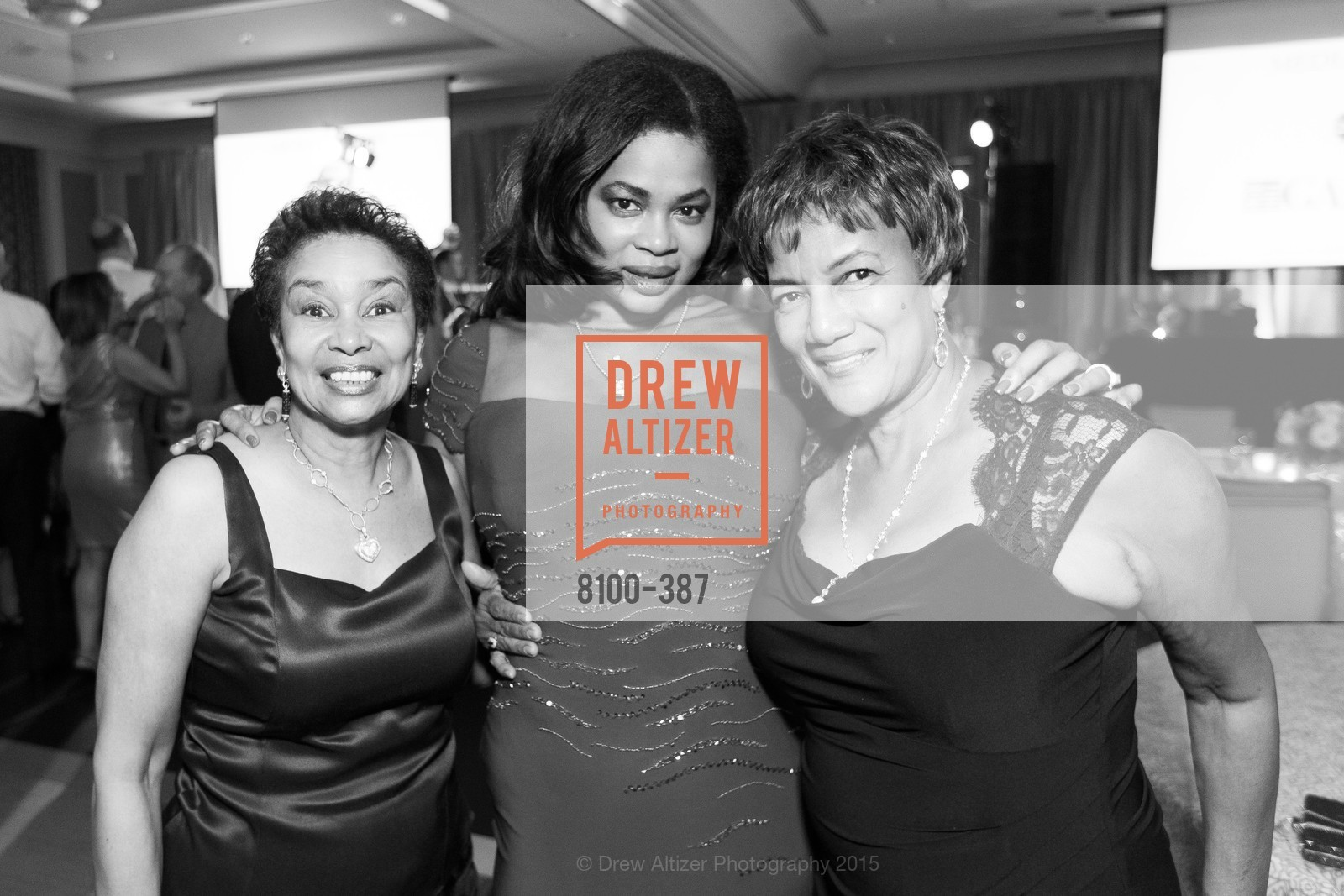 Anette Harris, Ayanna Jenkins-Toney, Carol Batte, Ronald McDonald House 2015 Home Away From Home Gala, Four Seasons Hotel San Francisco, Grand Ballroom. 757 Market St, October 16th, 2015,Drew Altizer, Drew Altizer Photography, full-service agency, private events, San Francisco photographer, photographer california