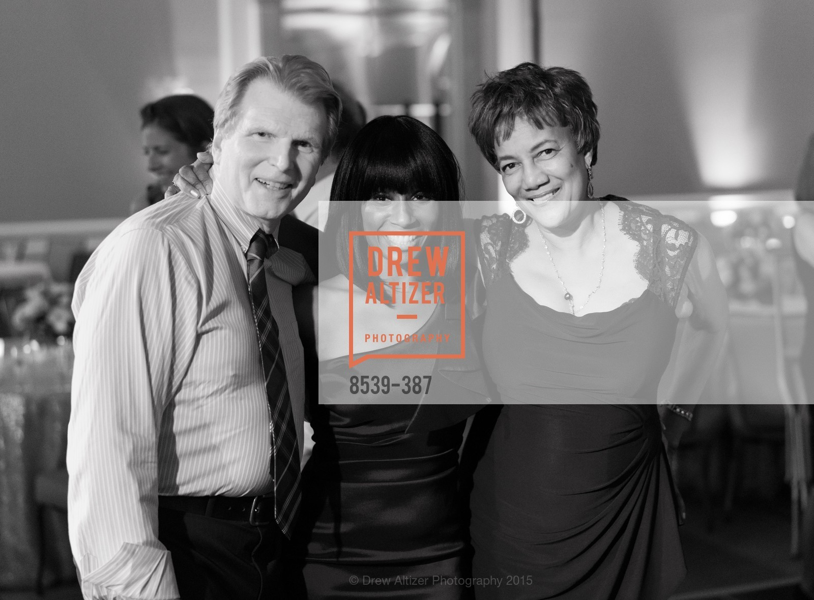 Ron Buckhammer, Pernella Sommerville, Carol Batte, Ronald McDonald House 2015 Home Away From Home Gala, Four Seasons Hotel San Francisco, Grand Ballroom. 757 Market St, October 16th, 2015,Drew Altizer, Drew Altizer Photography, full-service agency, private events, San Francisco photographer, photographer california