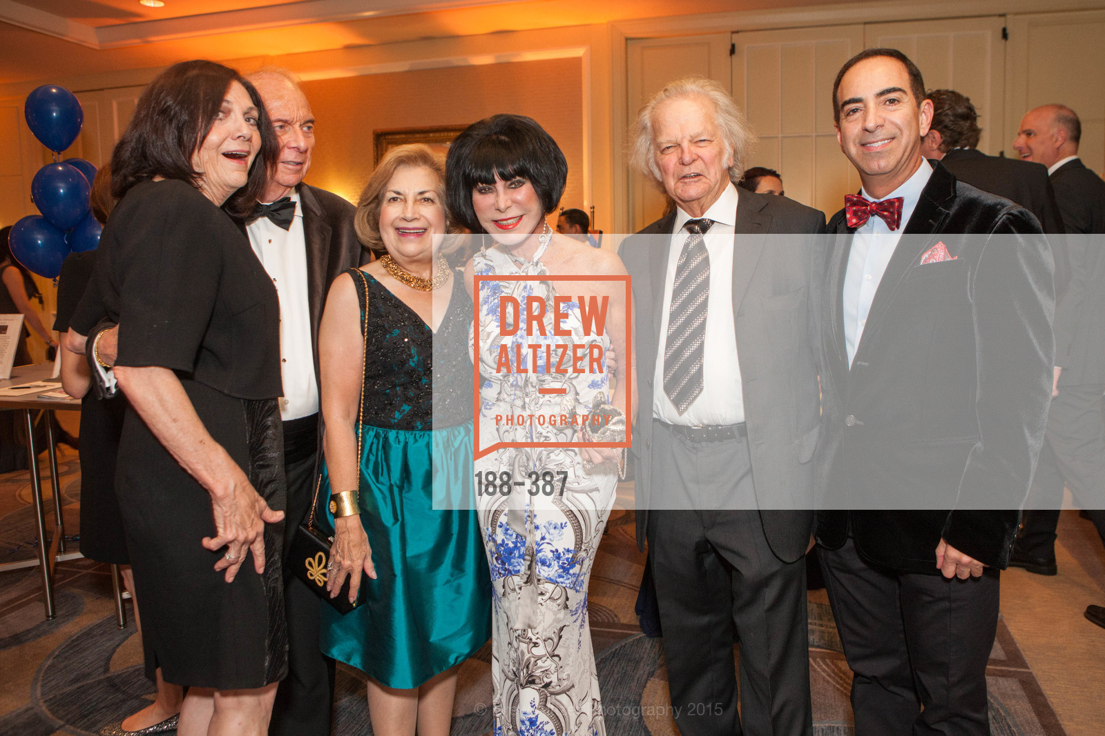 Pamela Culp, David Pace, Joan Silva, Marilyn Cabak, Michael Cabak, Elie Abijaude, Ronald McDonald House 2015 Home Away From Home Gala, Four Seasons Hotel San Francisco, Grand Ballroom. 757 Market St, October 16th, 2015,Drew Altizer, Drew Altizer Photography, full-service agency, private events, San Francisco photographer, photographer california