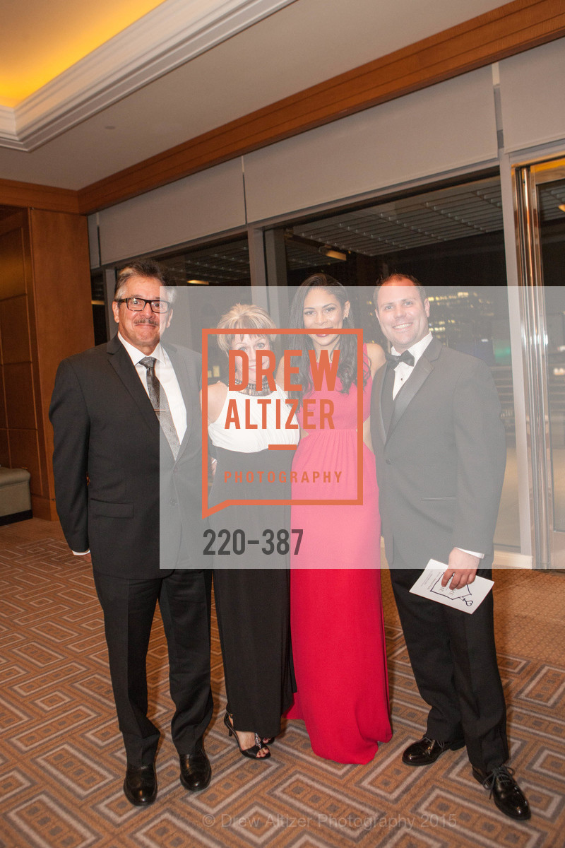 Richard Faenzi, Peggy Eriksen, Aubrey Gaston, Jason Eriksen, Ronald McDonald House 2015 Home Away From Home Gala, Four Seasons Hotel San Francisco, Grand Ballroom. 757 Market St, October 16th, 2015,Drew Altizer, Drew Altizer Photography, full-service agency, private events, San Francisco photographer, photographer california