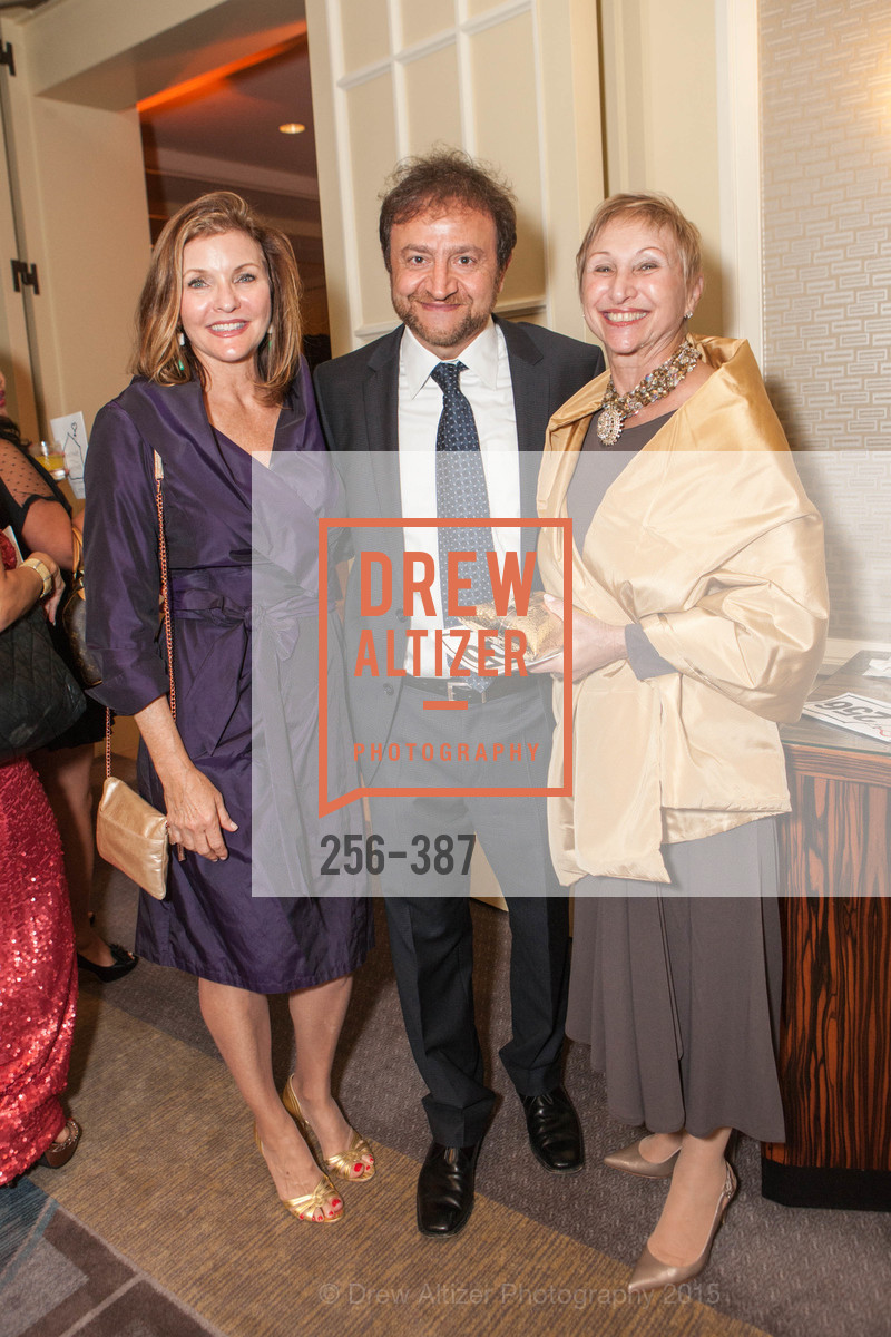 Toni Thomas, Simon Khalaf, Ronni Garfield, Ronald McDonald House 2015 Home Away From Home Gala, Four Seasons Hotel San Francisco, Grand Ballroom. 757 Market St, October 16th, 2015,Drew Altizer, Drew Altizer Photography, full-service agency, private events, San Francisco photographer, photographer california
