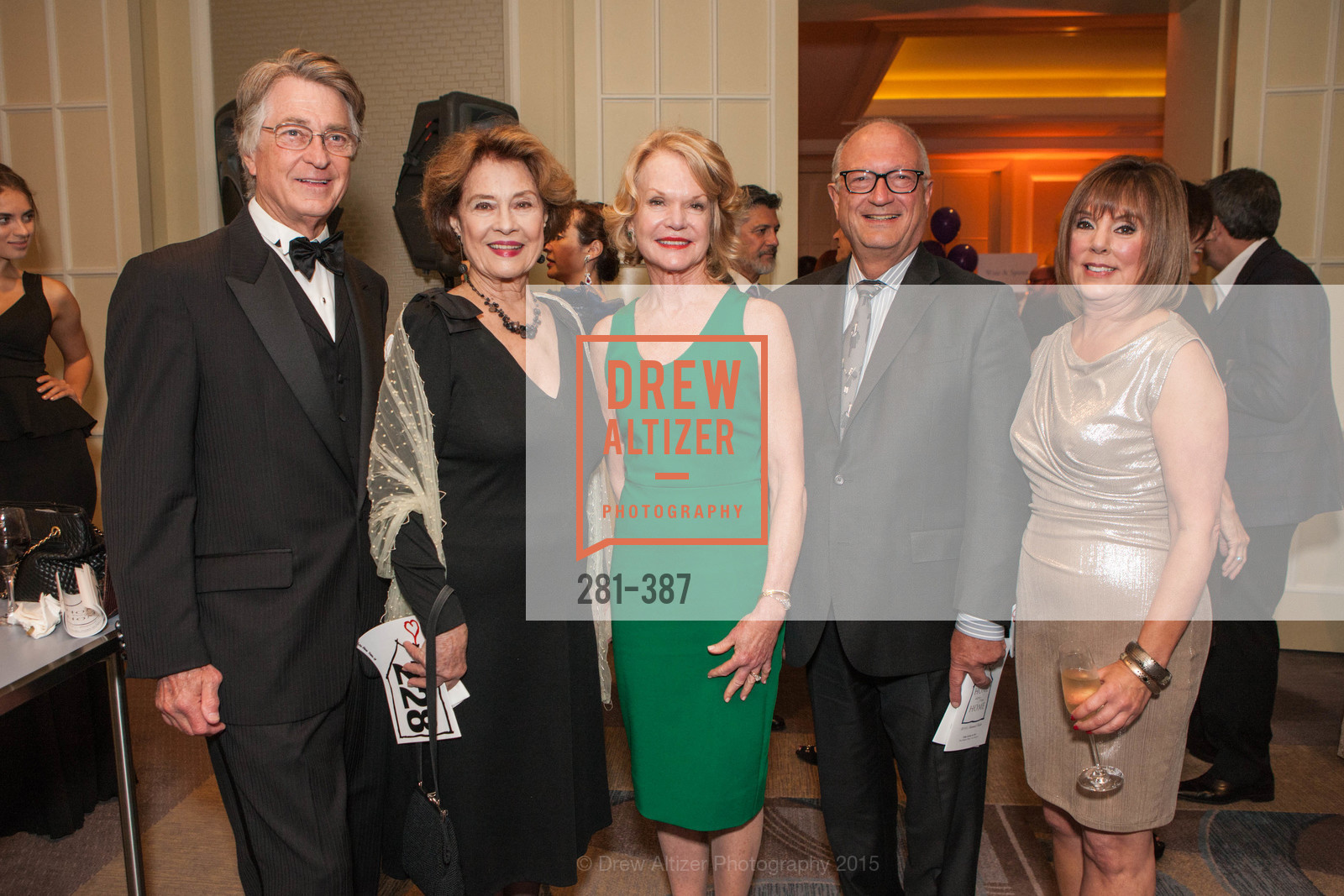 Leon Huntting, Diane Baker, Lynn Lubbock, Craig Lubbock, Rheta Cole, Ronald McDonald House 2015 Home Away From Home Gala, Four Seasons Hotel San Francisco, Grand Ballroom. 757 Market St, October 16th, 2015,Drew Altizer, Drew Altizer Photography, full-service agency, private events, San Francisco photographer, photographer california