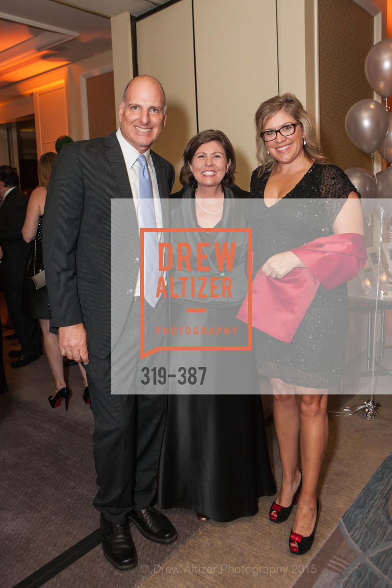 Stephen Rajninger, Ellen Raboin, Amy Oliver, Ronald McDonald House 2015 Home Away From Home Gala, Four Seasons Hotel San Francisco, Grand Ballroom. 757 Market St, October 16th, 2015,Drew Altizer, Drew Altizer Photography, full-service agency, private events, San Francisco photographer, photographer california