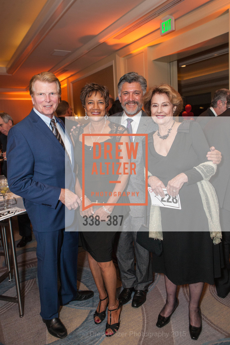 Ron Buckhammer, Carol Batte, Mario Diaz, Diane Baker, Ronald McDonald House 2015 Home Away From Home Gala, Four Seasons Hotel San Francisco, Grand Ballroom. 757 Market St, October 16th, 2015,Drew Altizer, Drew Altizer Photography, full-service agency, private events, San Francisco photographer, photographer california