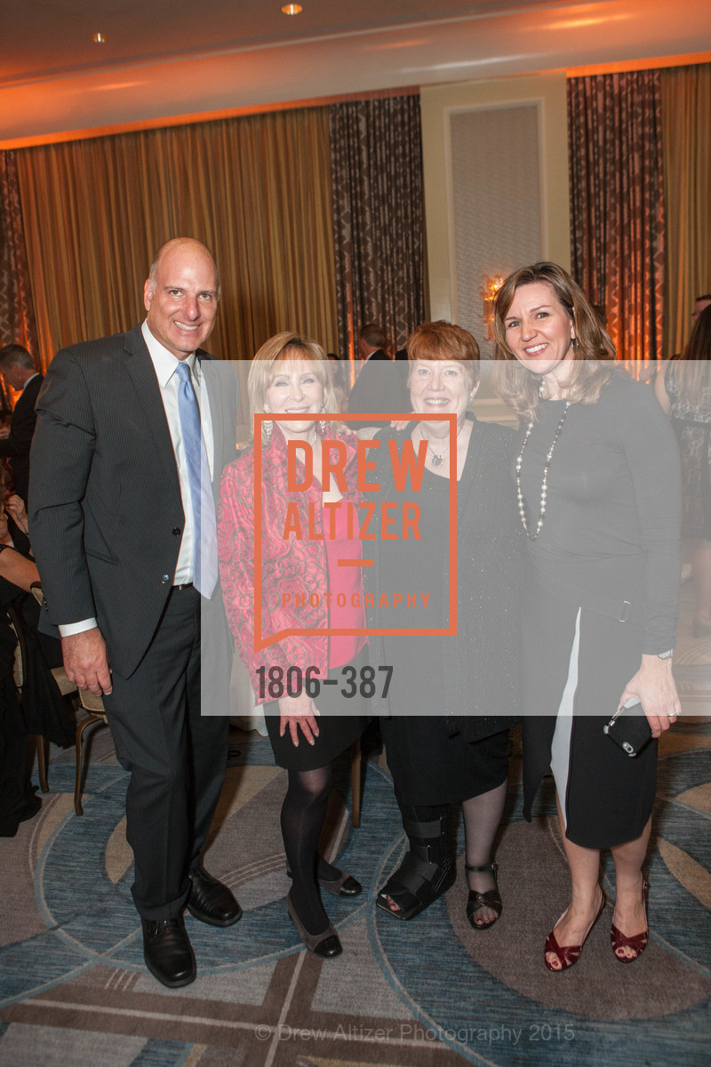 Stephen Rajninger, Cheryl Jennings, Lois Moore, Tracy Silva, Ronald McDonald House 2015 Home Away From Home Gala, Four Seasons Hotel San Francisco, Grand Ballroom. 757 Market St, October 16th, 2015,Drew Altizer, Drew Altizer Photography, full-service agency, private events, San Francisco photographer, photographer california