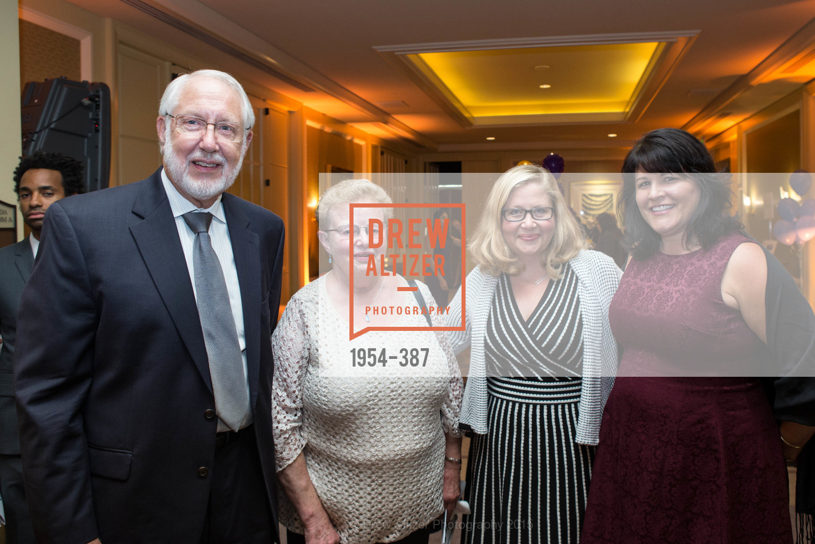 Gerry MacClelland, Kathy MacClelland, Heather MacClelland, Becky Shepherd, Ronald McDonald House 2015 Home Away From Home Gala, Four Seasons Hotel San Francisco, Grand Ballroom. 757 Market St, October 16th, 2015,Drew Altizer, Drew Altizer Photography, full-service agency, private events, San Francisco photographer, photographer california