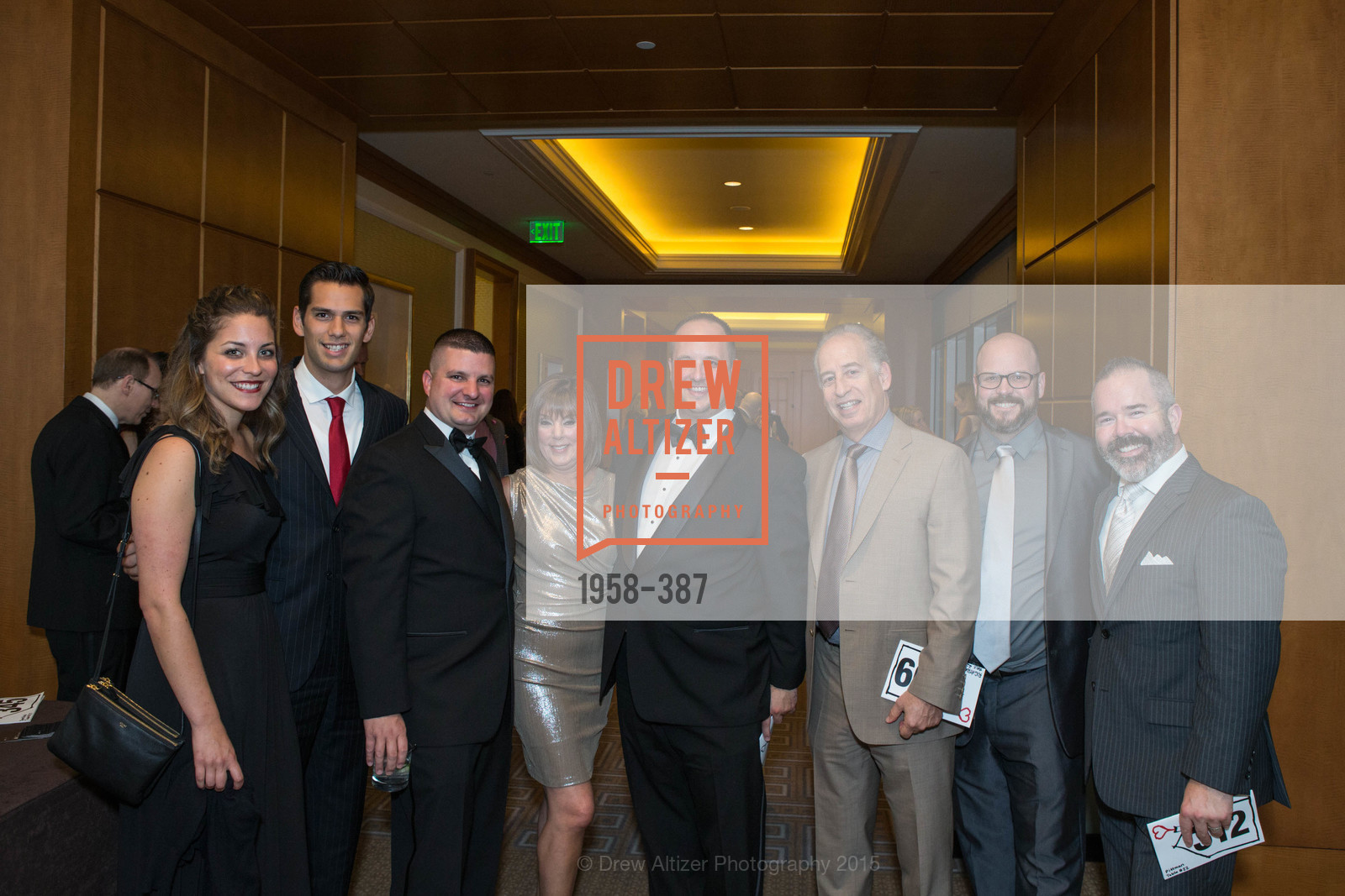 Skyler Scher, Trevor Garcia, Vic Bruno, Rheta Cole, Chris Miller, Scott Righthand, Jimmy Moore, David Pittman, Ronald McDonald House 2015 Home Away From Home Gala, Four Seasons Hotel San Francisco, Grand Ballroom. 757 Market St, October 16th, 2015,Drew Altizer, Drew Altizer Photography, full-service agency, private events, San Francisco photographer, photographer california