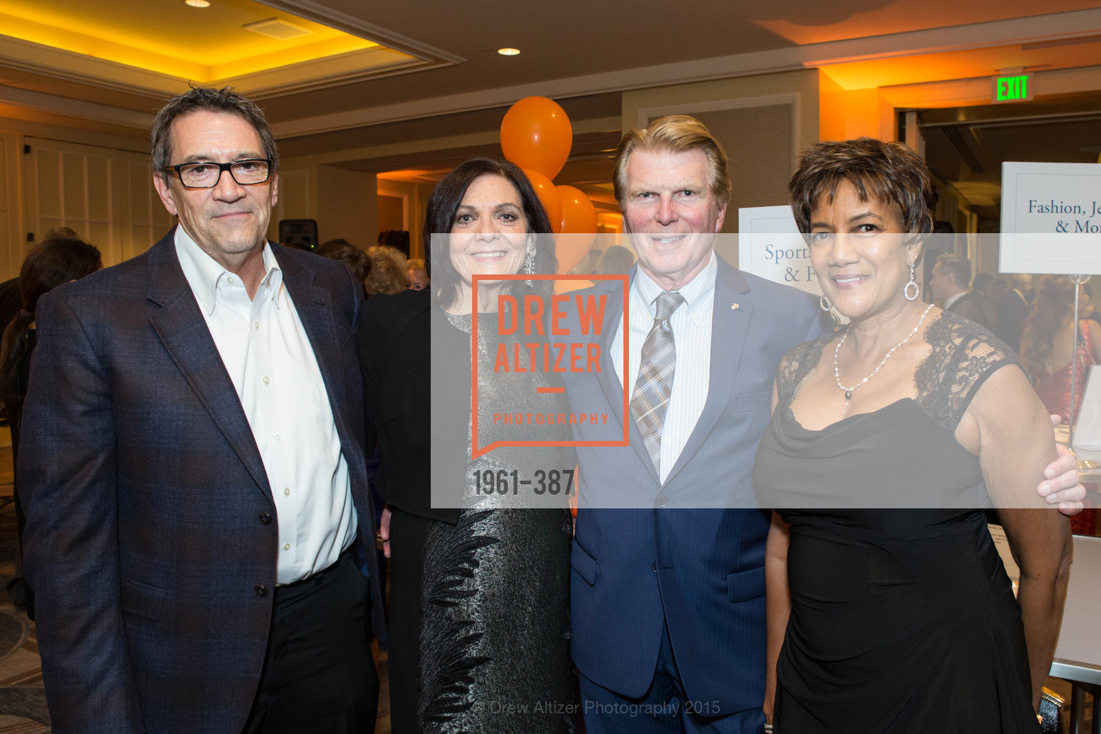 Paul Proett, Pamela Culp, Ron Buckhammer, Carol Batte, Ronald McDonald House 2015 Home Away From Home Gala, Four Seasons Hotel San Francisco, Grand Ballroom. 757 Market St, October 16th, 2015,Drew Altizer, Drew Altizer Photography, full-service agency, private events, San Francisco photographer, photographer california