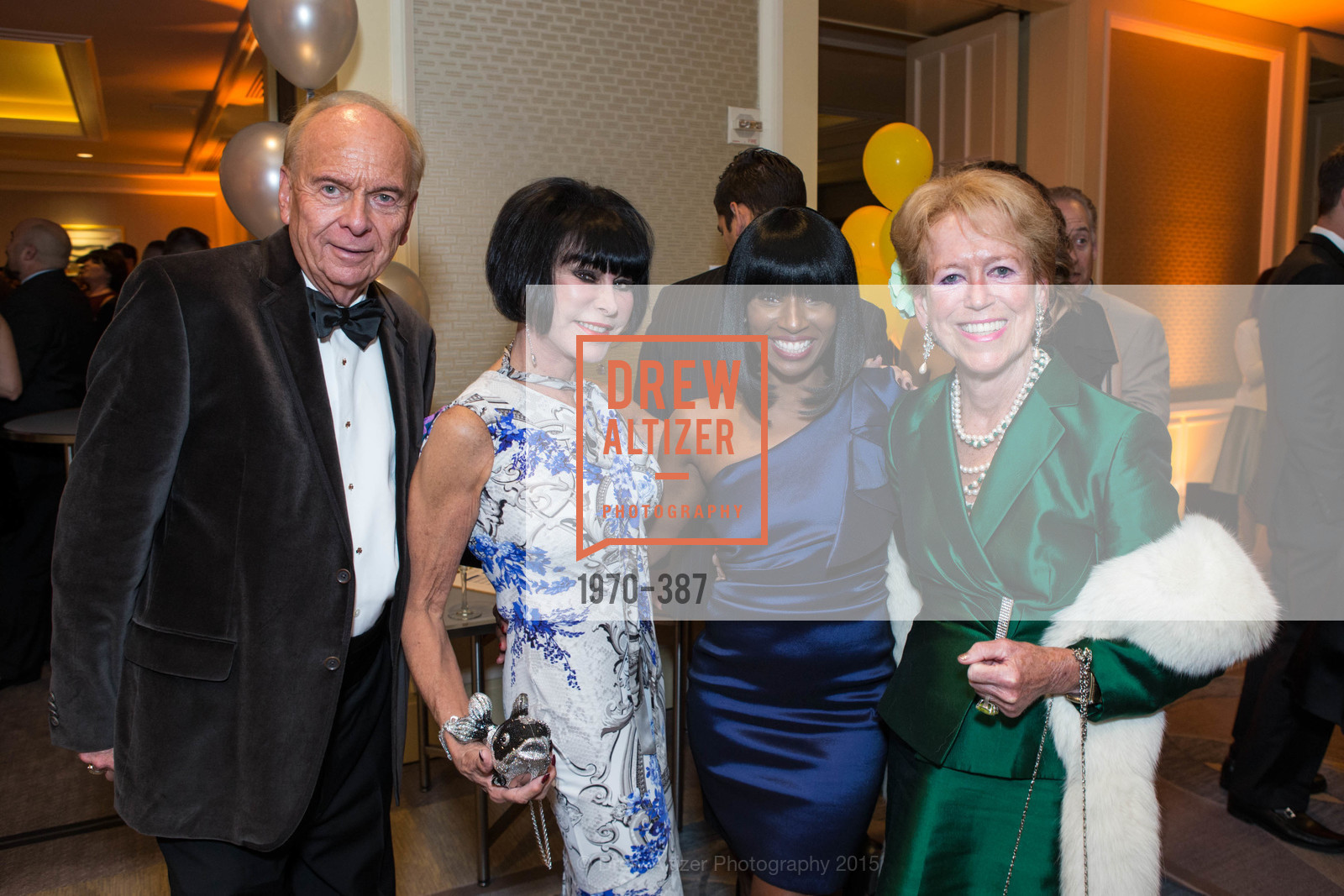 David Pace, Marilyn Cabak, Pernella Sommerville, Giselle McKellar, Ronald McDonald House 2015 Home Away From Home Gala, Four Seasons Hotel San Francisco, Grand Ballroom. 757 Market St, October 16th, 2015,Drew Altizer, Drew Altizer Photography, full-service agency, private events, San Francisco photographer, photographer california