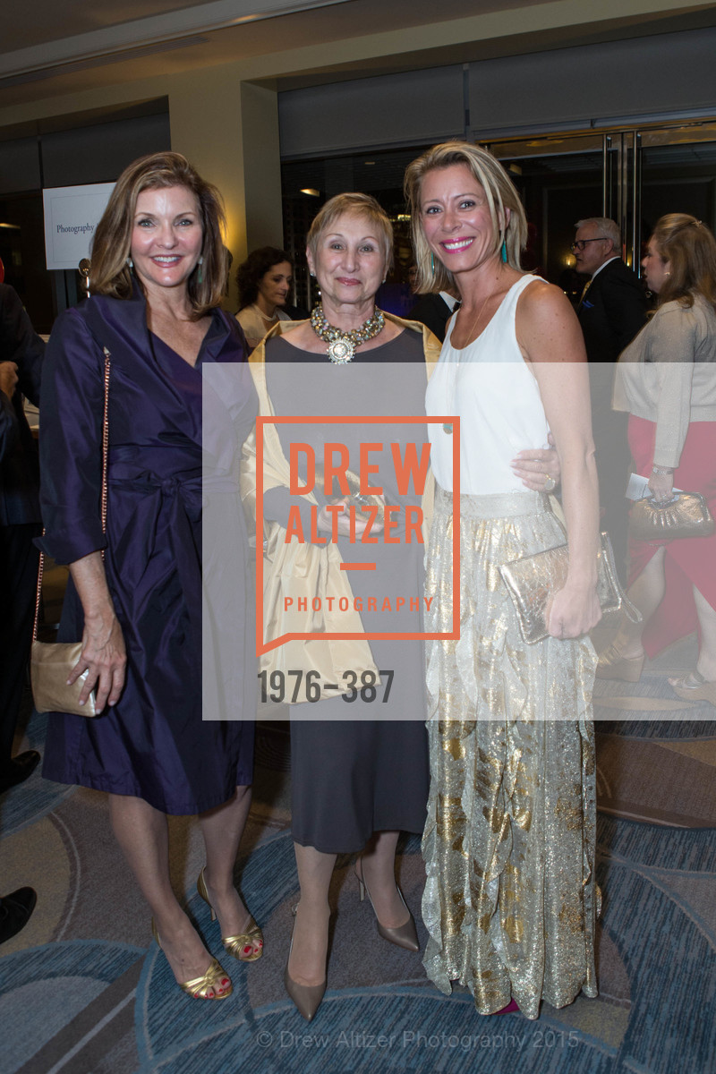 Toni Thomas, Ronni Garfield, Priscilla Dosiou, Ronald McDonald House 2015 Home Away From Home Gala, Four Seasons Hotel San Francisco, Grand Ballroom. 757 Market St, October 16th, 2015,Drew Altizer, Drew Altizer Photography, full-service agency, private events, San Francisco photographer, photographer california