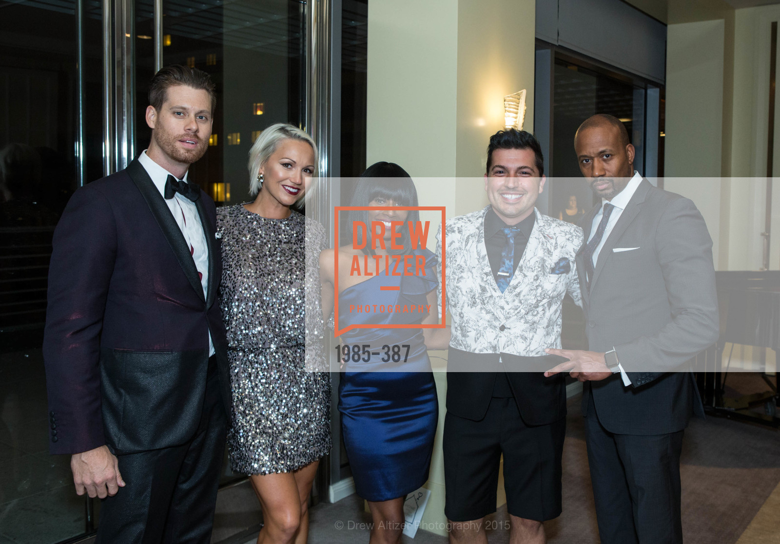 Nathan Johnson, Breanna Johnson, Pernella Sommerville, Jake Wall, Jimi Harris, Ronald McDonald House 2015 Home Away From Home Gala, Four Seasons Hotel San Francisco, Grand Ballroom. 757 Market St, October 16th, 2015,Drew Altizer, Drew Altizer Photography, full-service event agency, private events, San Francisco photographer, photographer California