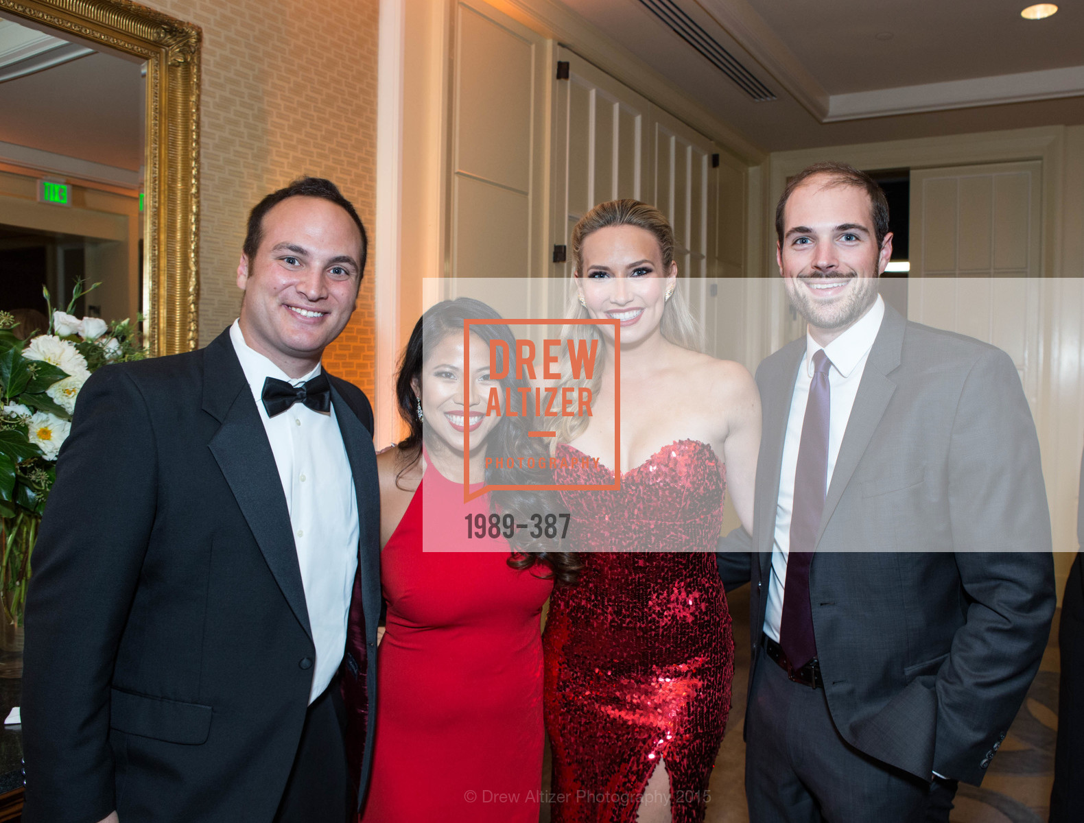 Alex Cohen, Tessa Chen, Michelle Ashman, Brendan O'Callaghan, Ronald McDonald House 2015 Home Away From Home Gala, Four Seasons Hotel San Francisco, Grand Ballroom. 757 Market St, October 16th, 2015,Drew Altizer, Drew Altizer Photography, full-service agency, private events, San Francisco photographer, photographer california