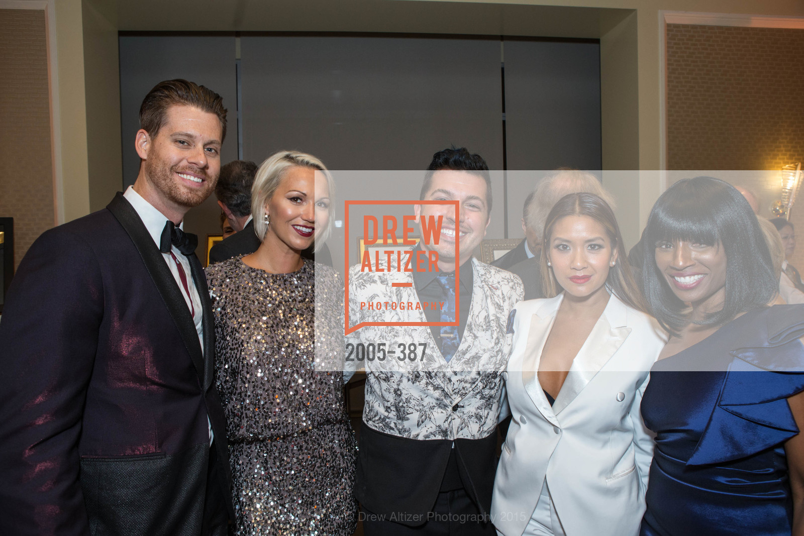 Nathan Johnson, Breanna Johnson, Jake Wall, Lillian Phan, Pernella Sommerville, Ronald McDonald House 2015 Home Away From Home Gala, Four Seasons Hotel San Francisco, Grand Ballroom. 757 Market St, October 16th, 2015,Drew Altizer, Drew Altizer Photography, full-service agency, private events, San Francisco photographer, photographer california
