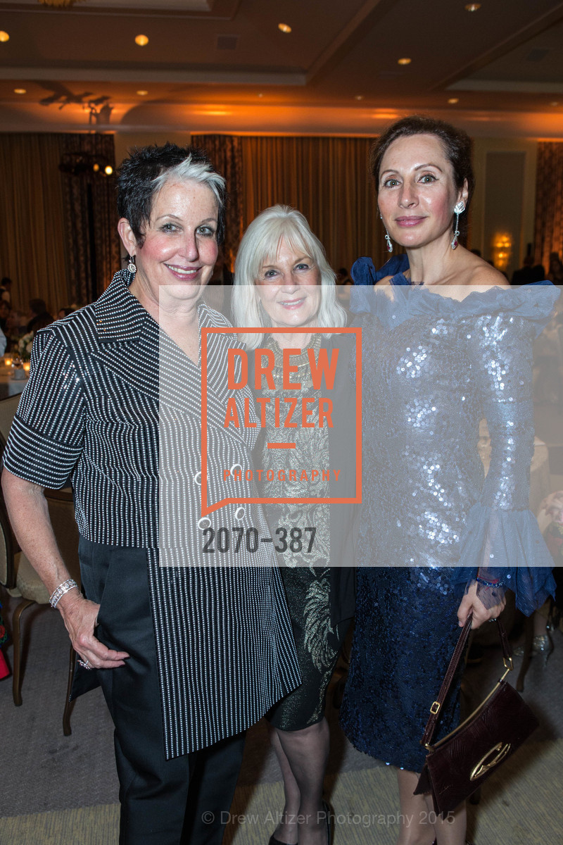 Karen Kubin, Arlene Inch, Clara Shayevich, Ronald McDonald House 2015 Home Away From Home Gala, Four Seasons Hotel San Francisco, Grand Ballroom. 757 Market St, October 16th, 2015,Drew Altizer, Drew Altizer Photography, full-service agency, private events, San Francisco photographer, photographer california