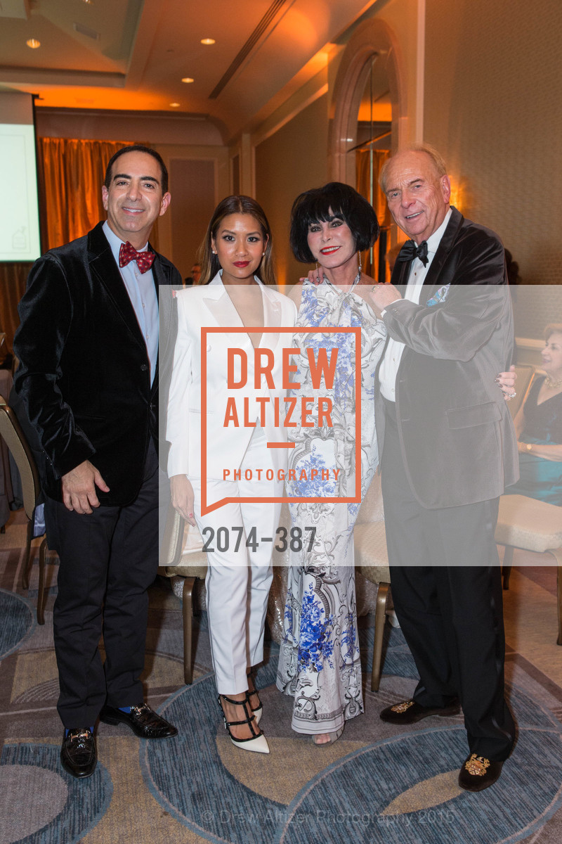 Elie Abijaude, Lillian Phan, Marilyn Cabak, David Pace, Ronald McDonald House 2015 Home Away From Home Gala, Four Seasons Hotel San Francisco, Grand Ballroom. 757 Market St, October 16th, 2015,Drew Altizer, Drew Altizer Photography, full-service agency, private events, San Francisco photographer, photographer california