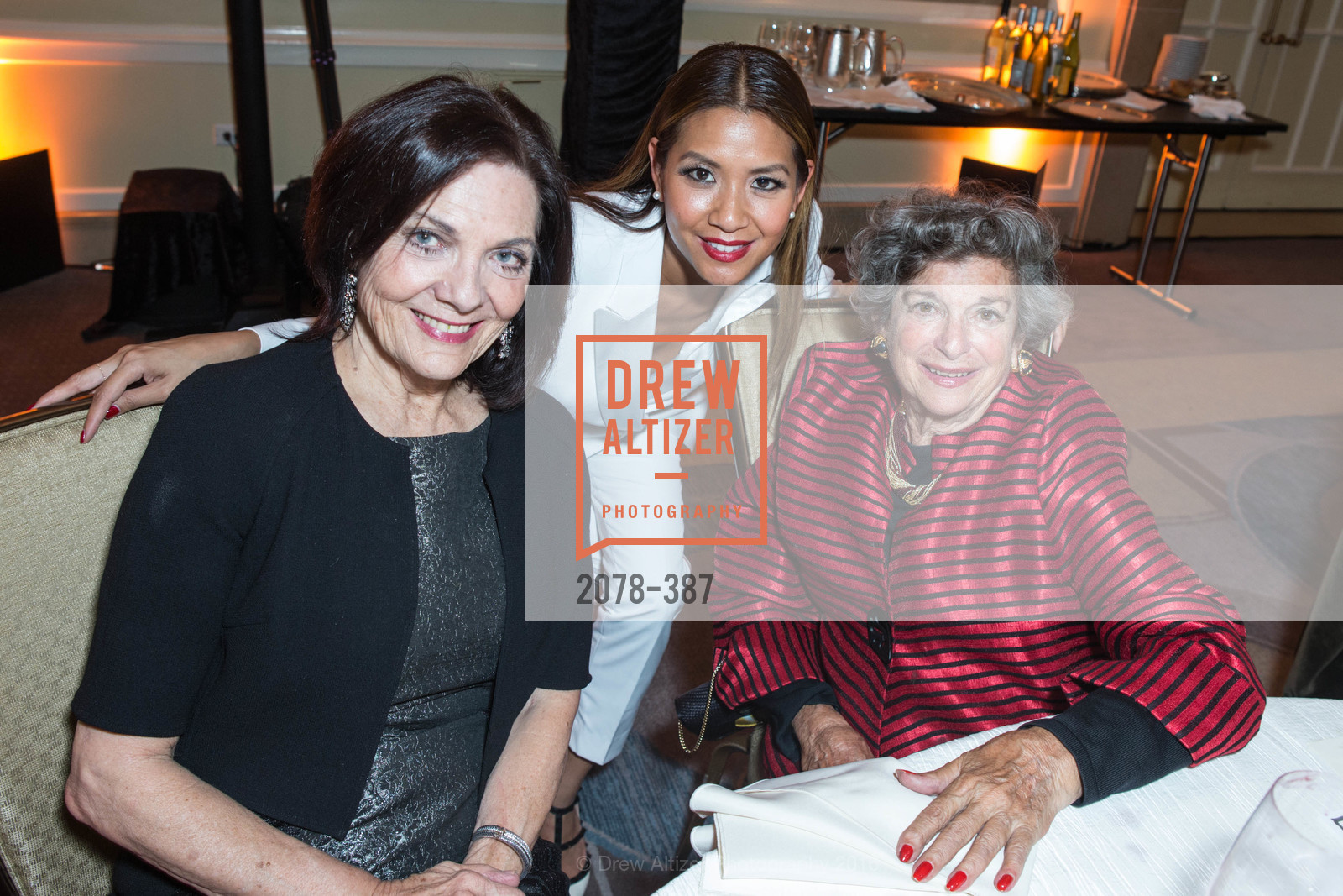 Pamela Culp, Lillian Phan, Delia Ehrlich, Ronald McDonald House 2015 Home Away From Home Gala, Four Seasons Hotel San Francisco, Grand Ballroom. 757 Market St, October 16th, 2015,Drew Altizer, Drew Altizer Photography, full-service agency, private events, San Francisco photographer, photographer california