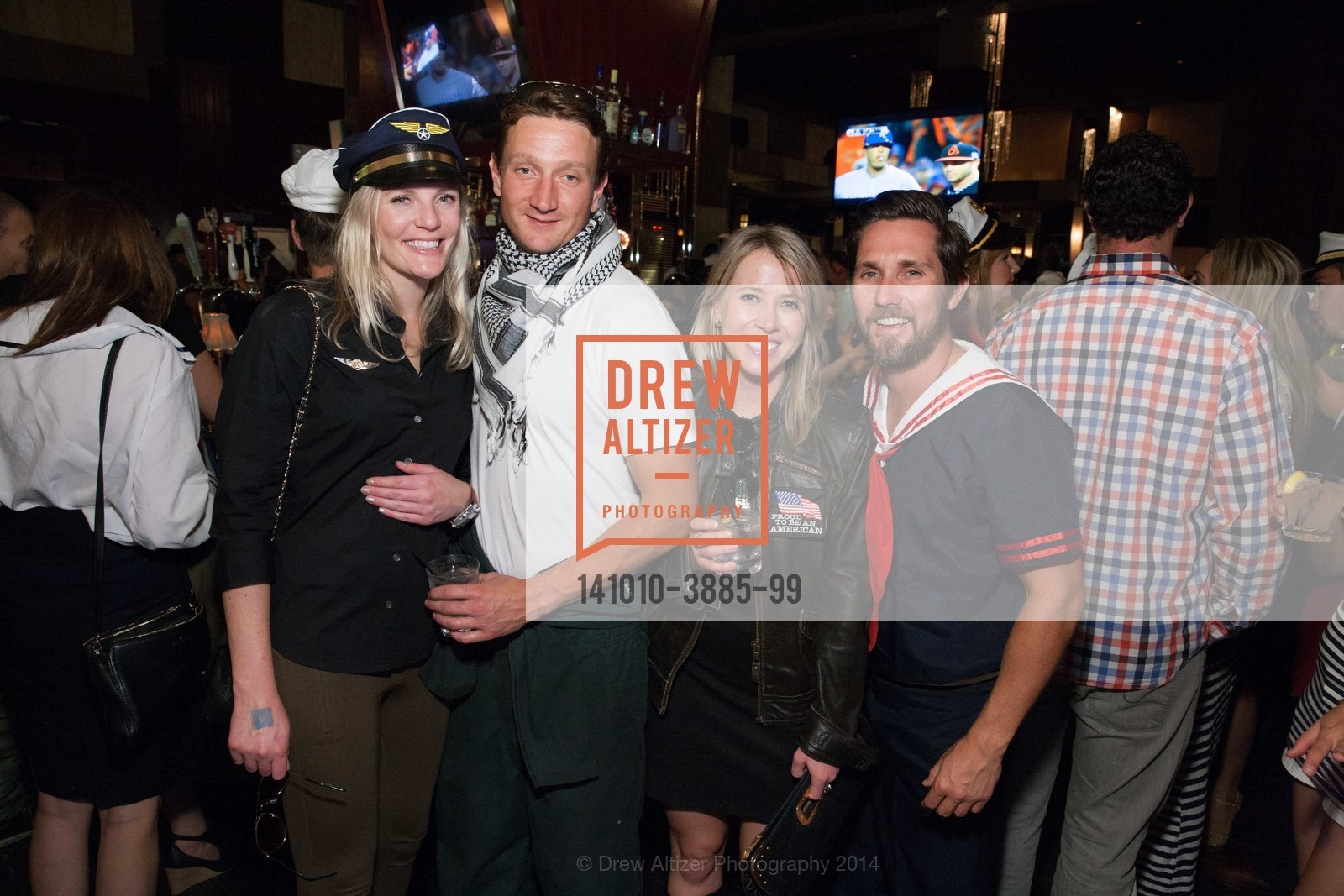 Courtney Frager, Morgan Trunell, Linsey Machacek, Steve Mickle, Photo #141010-3885-99