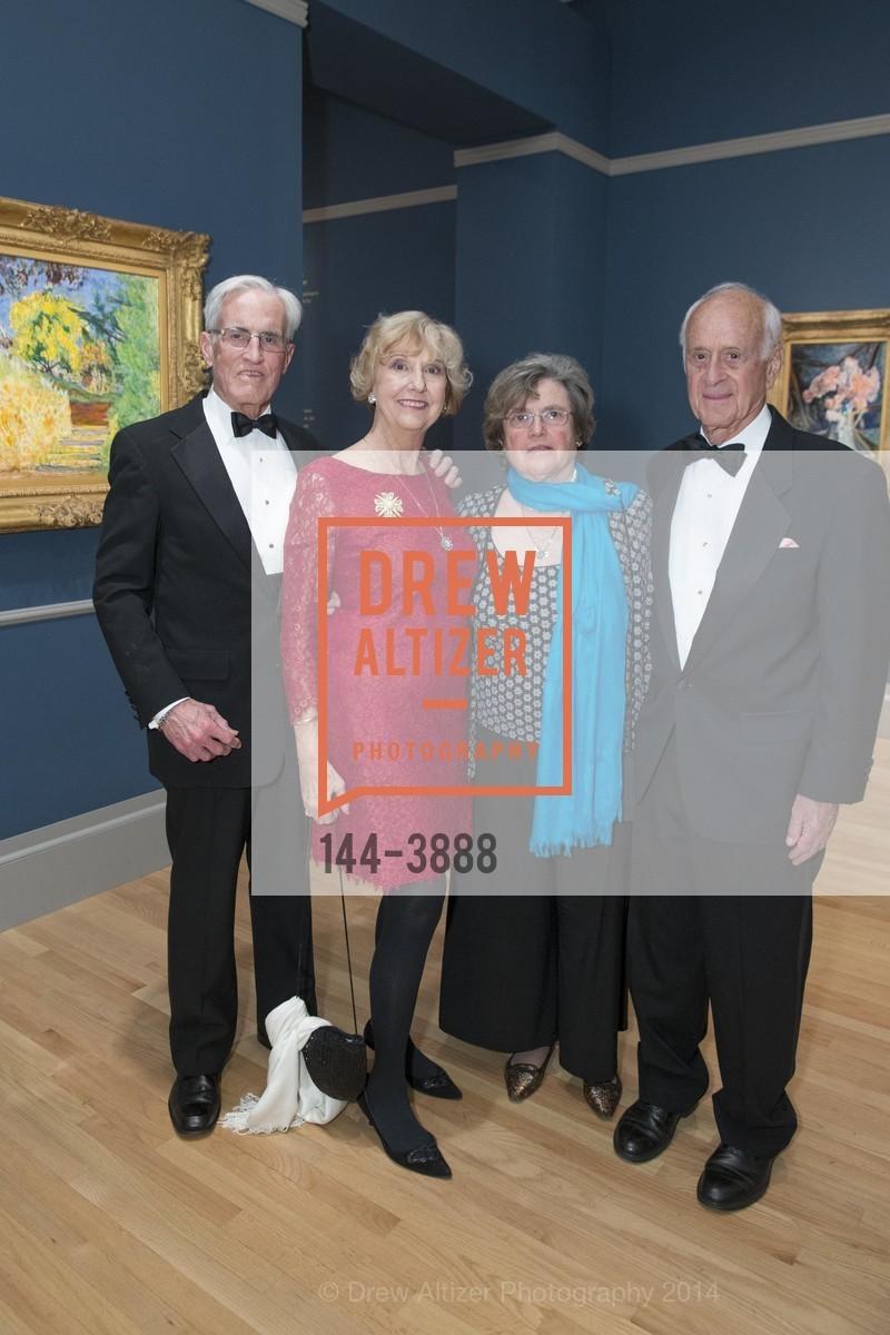 Fred Heuser, Judith Heuser, Daphne Bransten, Bob Bransten, Photo #144-3888
