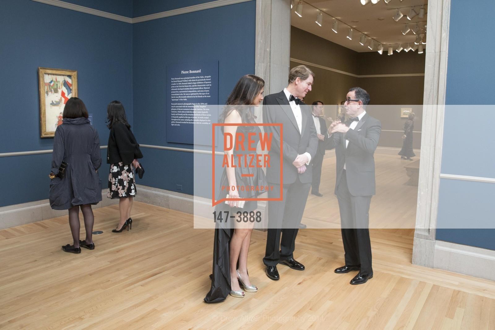 Leyla Alhosseini, David Spencer, Colin Bailey, Photo #147-3888