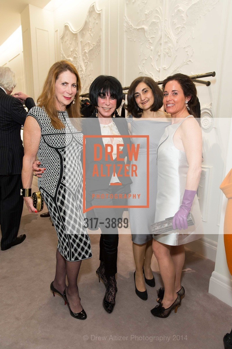 Patricia Ferrin Loucks, Marilyn Cabak, Fati Farmanfarmaian, Natalia Urrutia, Photo #317-3889
