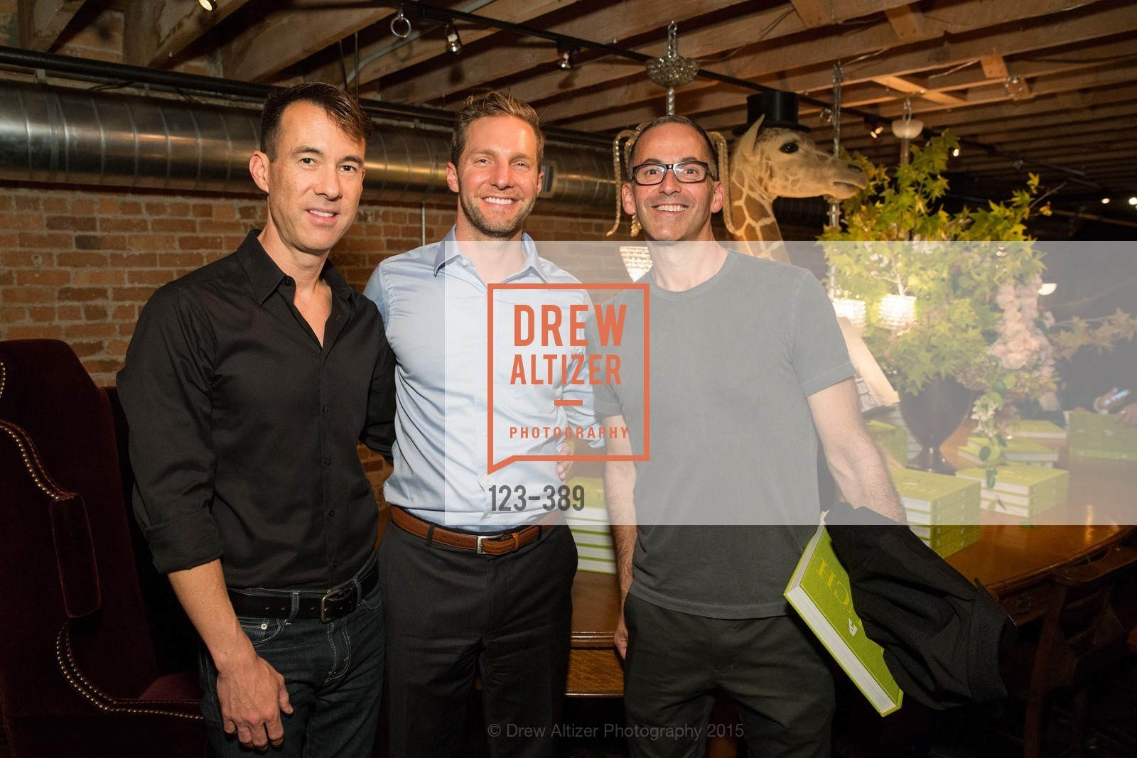 Matthew Fadness, Christian Ward, Will McCoy, Ken Fulk Hosts A Book Signing For Carlos Mota, Ken Fulk Inc. 310 7th St, October 14th, 2015,Drew Altizer, Drew Altizer Photography, full-service agency, private events, San Francisco photographer, photographer california