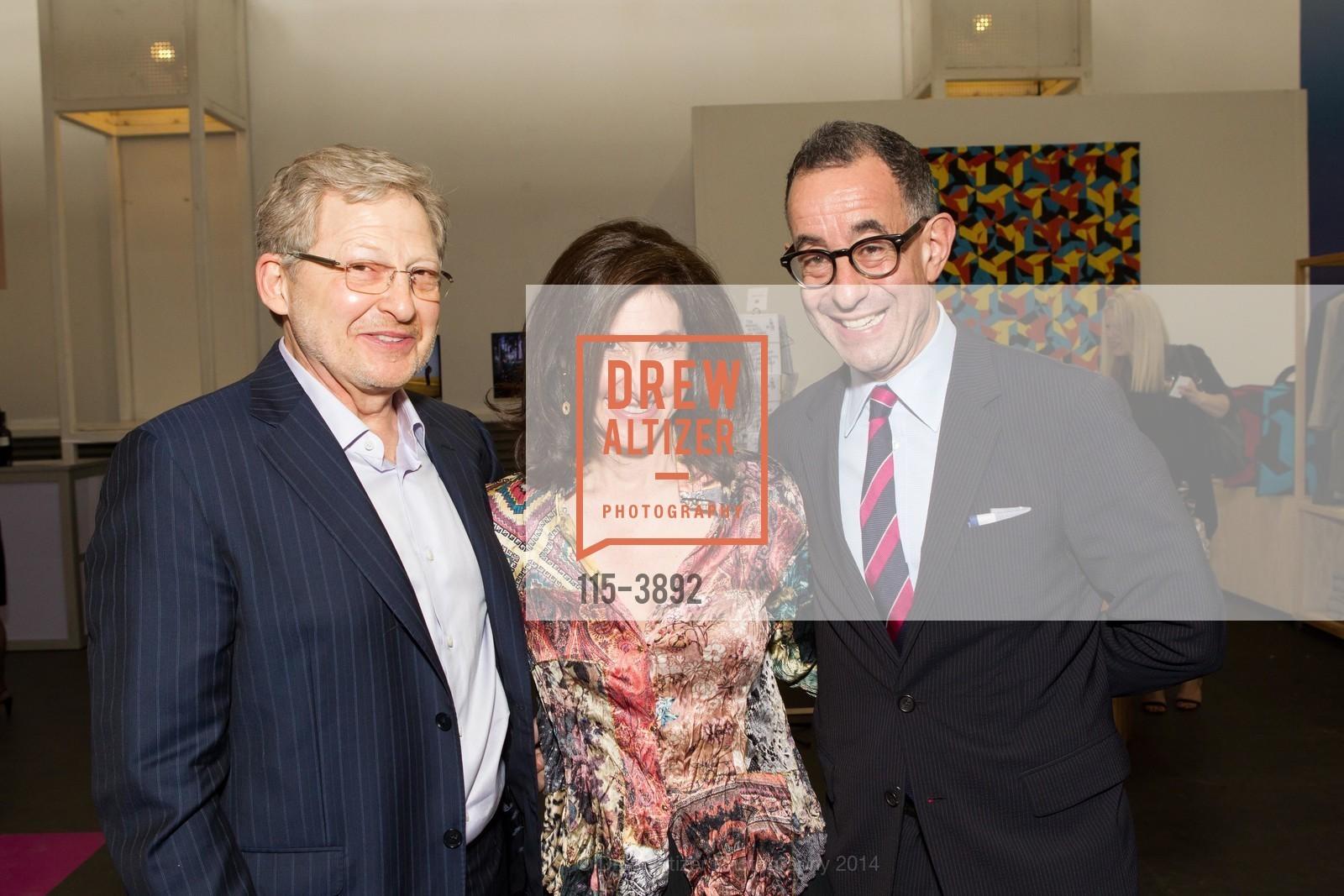 Alex Meyerovich, Leslie Meyerovich, Colin Bailey, Photo #115-3892