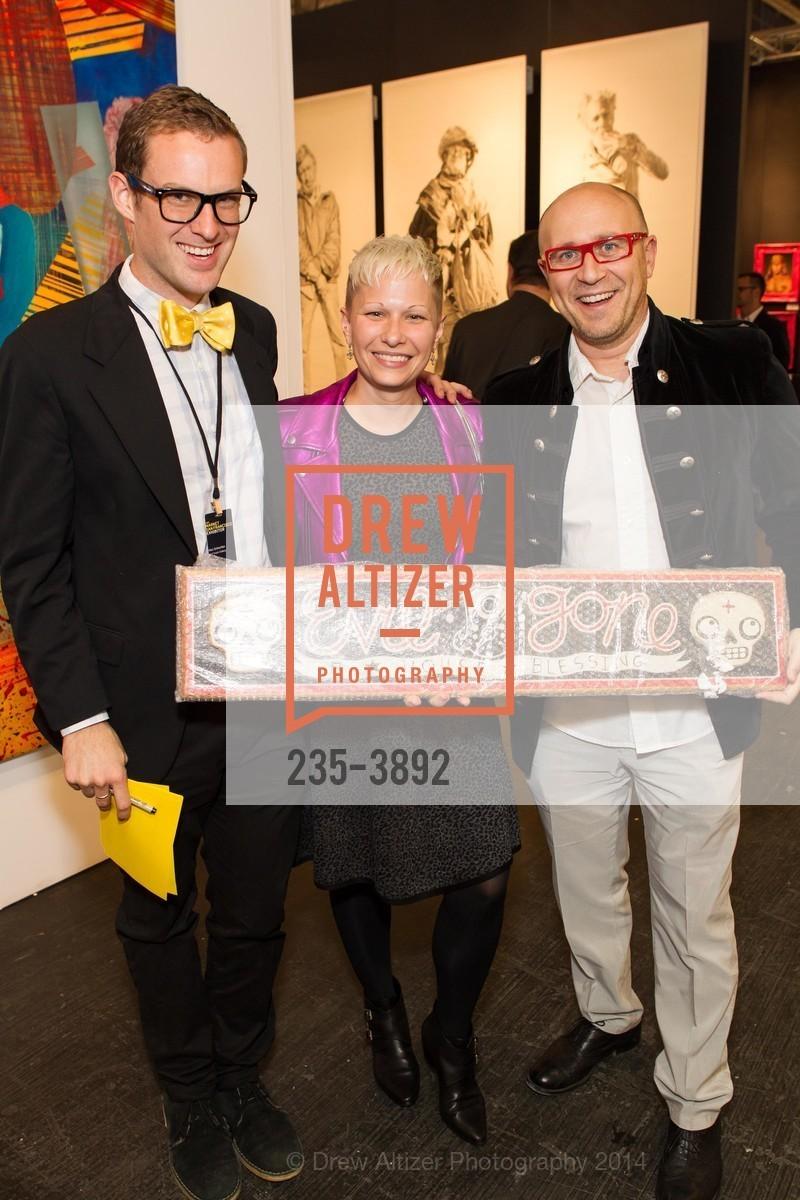 Alex Schechter, Carissa Barrett, Mattia Verzella, Photo #235-3892