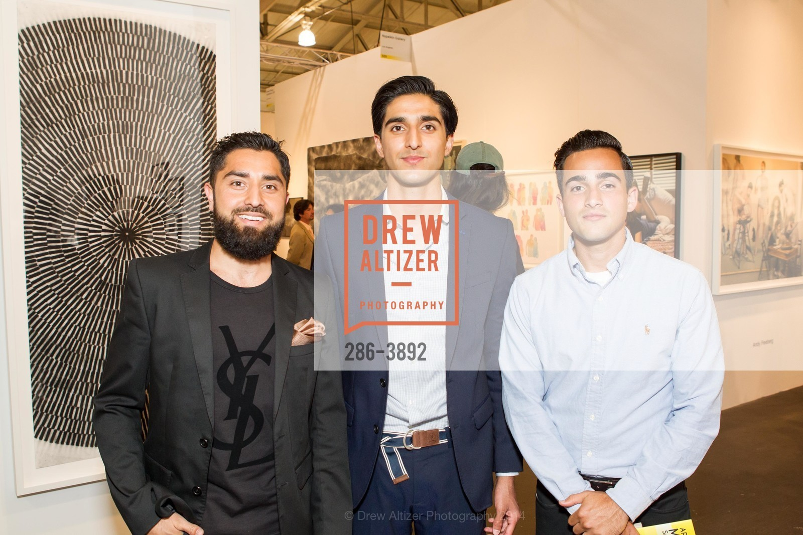 Roh Habibi, Ramin Habibi, Masoud Ardestani, Photo #286-3892