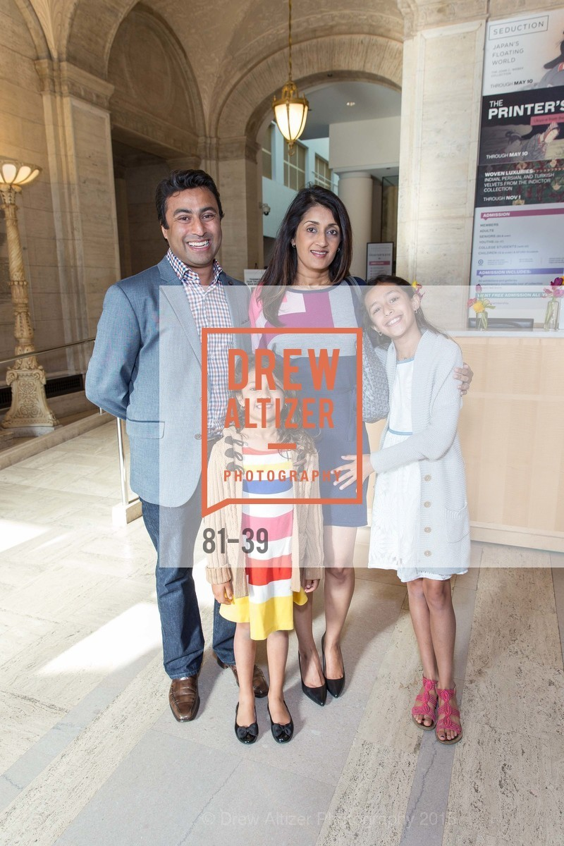 Ush Patel, Anya Patel, Rangini Malavalli, Alicia Patel, ASIAN ART MUSEUM Presents Once Upon a Time in Tokyo, Asian Art Museum. 200 Larkin St., San Francisco, April 17th, 2015,Drew Altizer, Drew Altizer Photography, full-service agency, private events, San Francisco photographer, photographer california