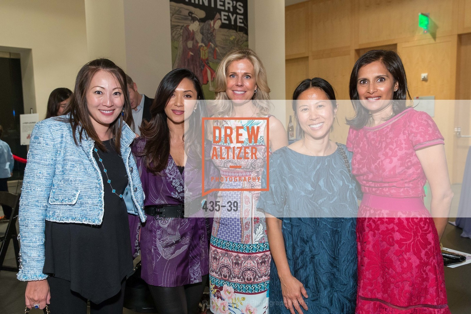 Helina Au, Demi Seguritan, Caroline Low, Linda Lynch, Mona Shah, ASIAN ART MUSEUM Presents Once Upon a Time in Tokyo, Asian Art Museum. 200 Larkin St., San Francisco, April 17th, 2015,Drew Altizer, Drew Altizer Photography, full-service agency, private events, San Francisco photographer, photographer california