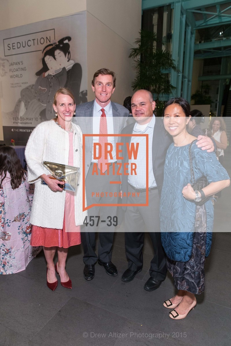 Amy Frederickson, Charlie Benziger, Kevin Lynch, Linda Lynch, ASIAN ART MUSEUM Presents Once Upon a Time in Tokyo, Asian Art Museum. 200 Larkin St., San Francisco, April 17th, 2015,Drew Altizer, Drew Altizer Photography, full-service agency, private events, San Francisco photographer, photographer california