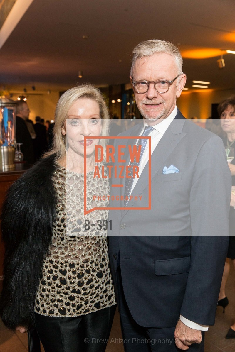 Barbara Brown, Martin Chapman, Jewel City: Art From San Francisco's Panama-Pacific International Exposition Donor Opening Reception, de Young Museum, October 15th, 2015,Drew Altizer, Drew Altizer Photography, full-service agency, private events, San Francisco photographer, photographer california