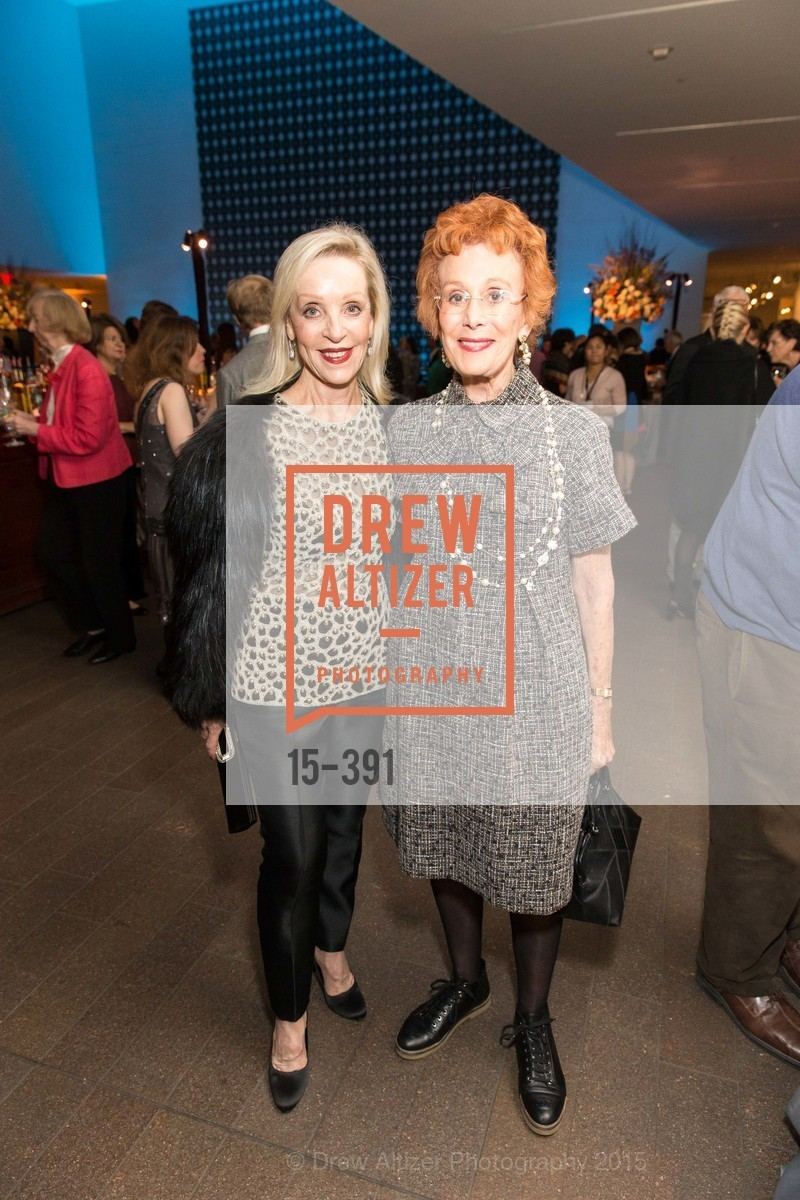 Barbara Brown, Phoebe Cowles, Jewel City: Art From San Francisco's Panama-Pacific International Exposition Donor Opening Reception, de Young Museum, October 15th, 2015,Drew Altizer, Drew Altizer Photography, full-service agency, private events, San Francisco photographer, photographer california