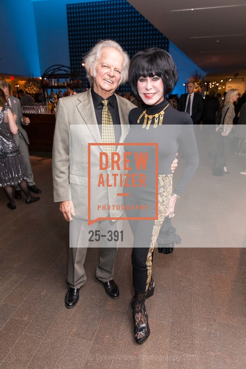 Michael Cabak, Marilyn Cabak, Jewel City: Art From San Francisco's Panama-Pacific International Exposition Donor Opening Reception, de Young Museum, October 15th, 2015